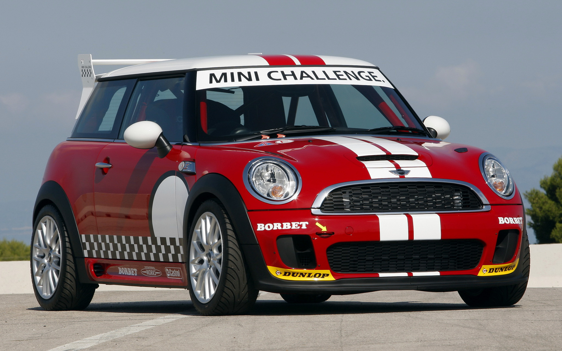 2008 Mini John Cooper Works Challenge Wallpapers And Hd Images Car Pixel