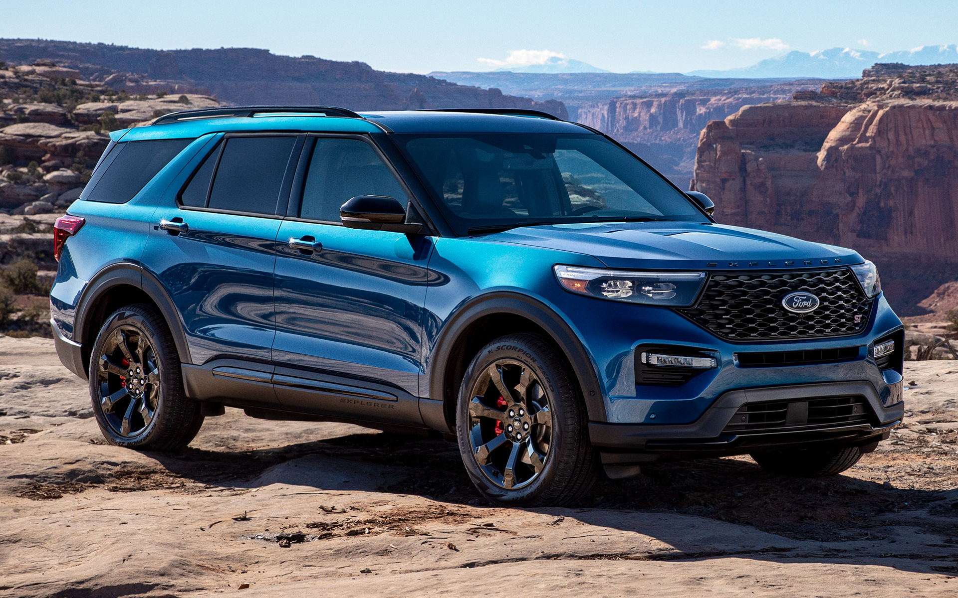 2020 Ford Explorer ST - Wallpapers and HD Images | Car Pixel