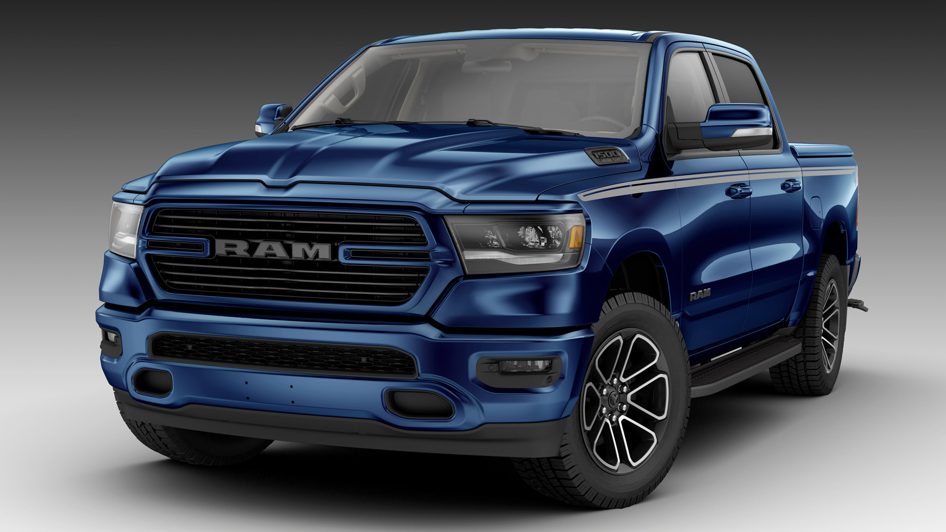 2019 Ram 1500 Big Horn Crew Cab Mopar Parts [Short ...