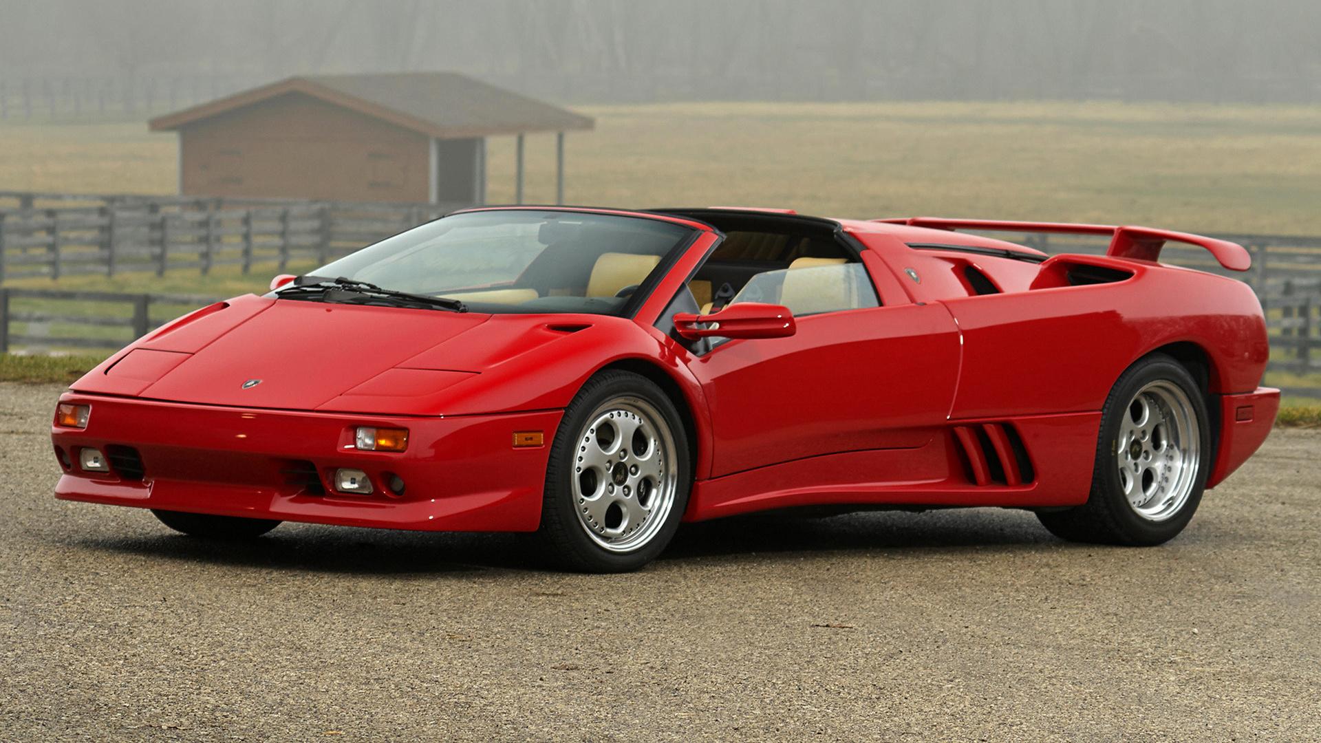 Lamborghini Diablo Vt Roadster 1995 Us Wallpapers And Hd