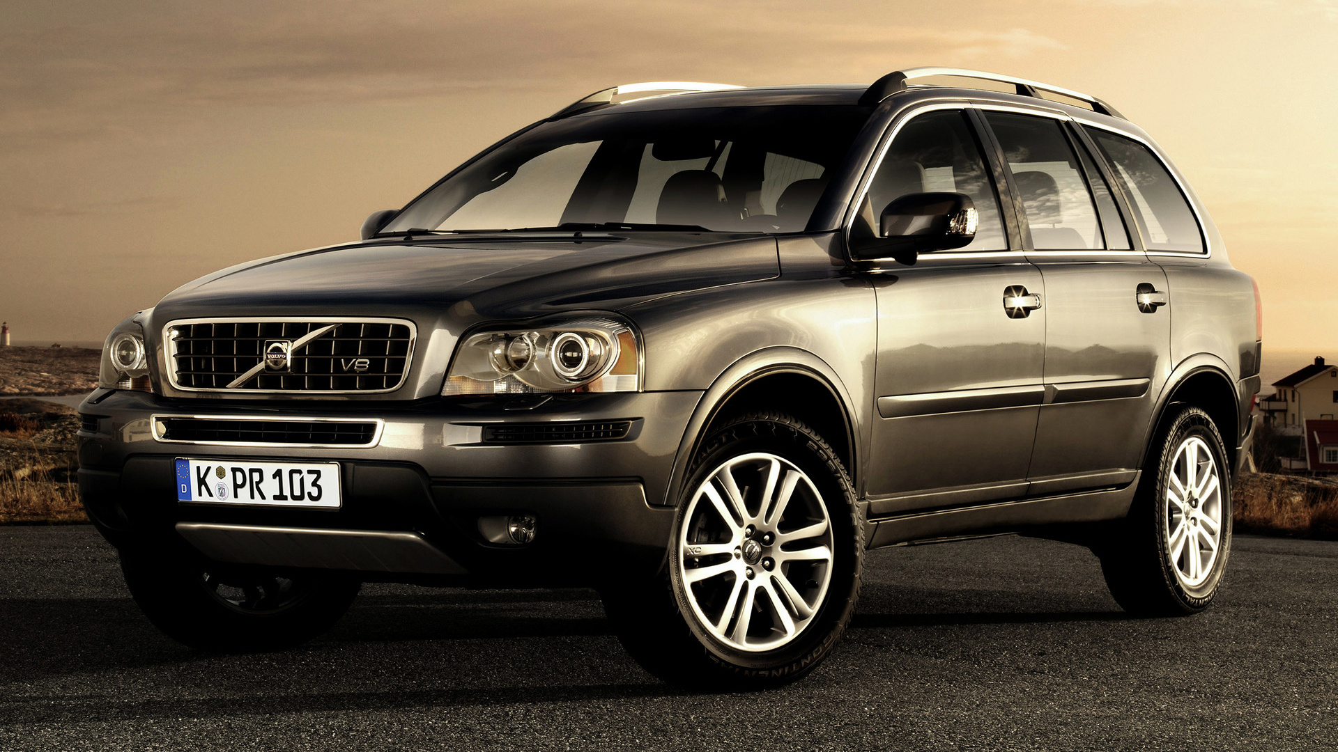 2008 Volvo Xc90 V8 Wallpapers And Hd Images Car Pixel