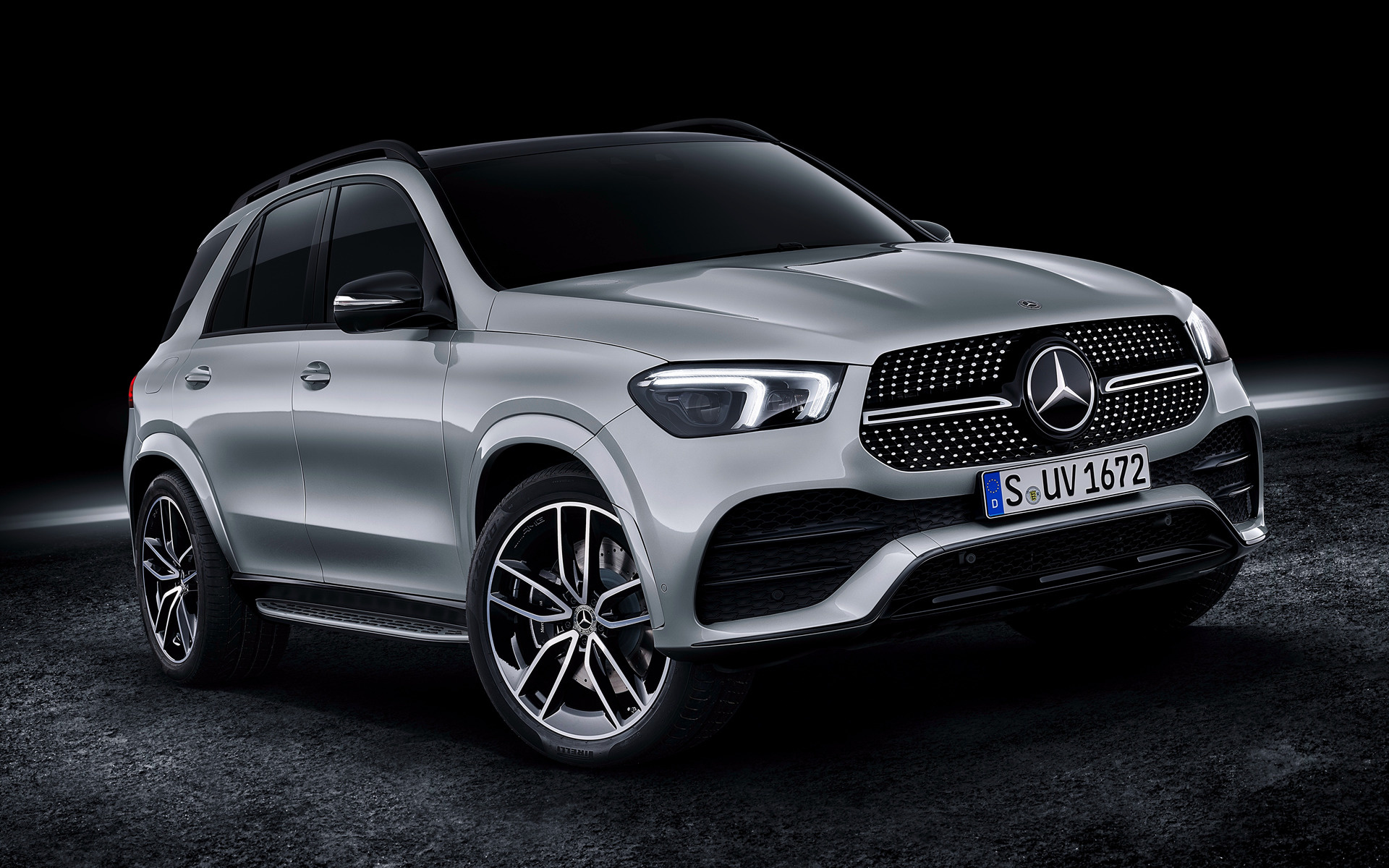 2019 mercedes benz gle class amg line wallpapers and hd. Black Bedroom Furniture Sets. Home Design Ideas