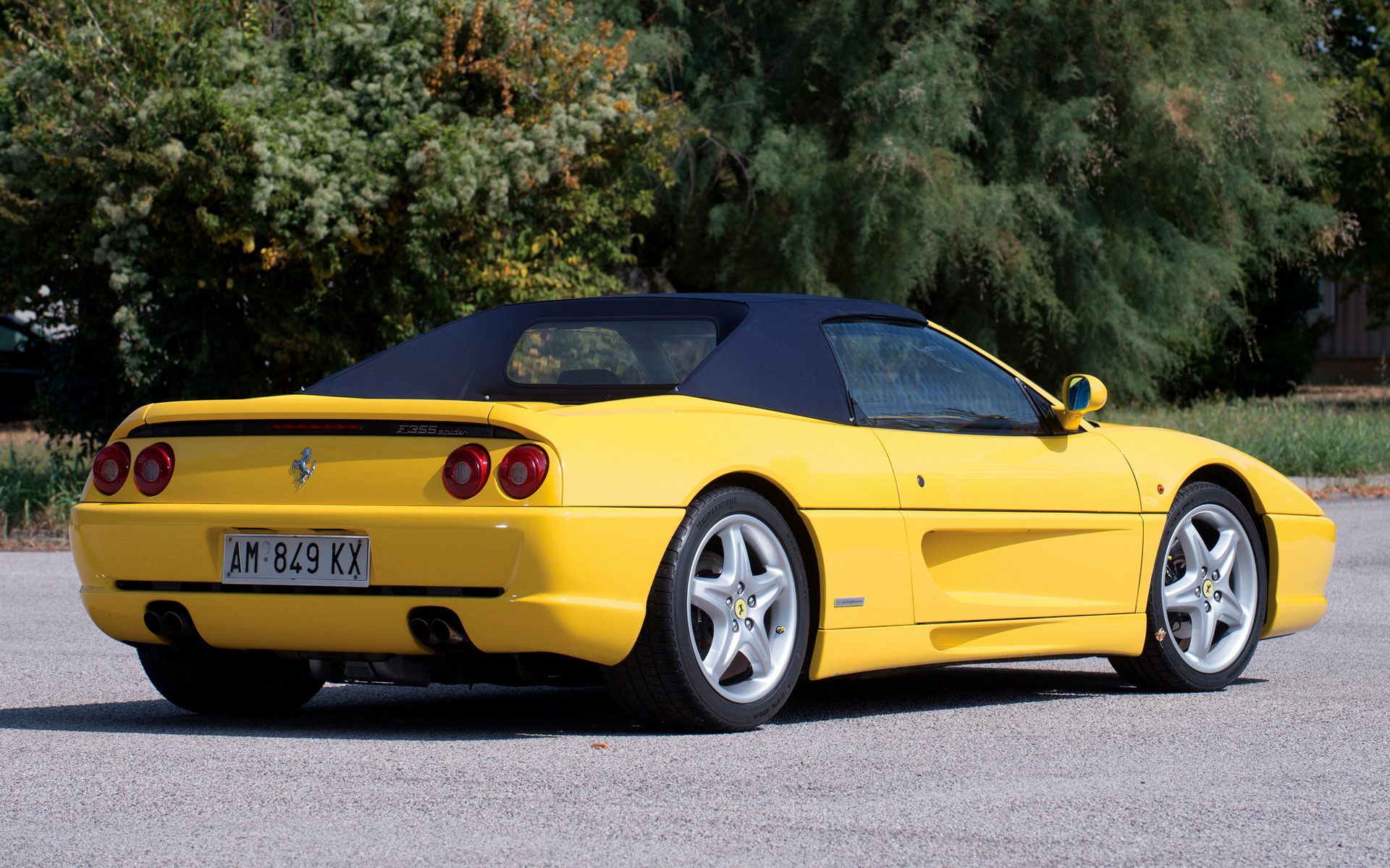 ferrari f355 spider wallpaper - photo #10