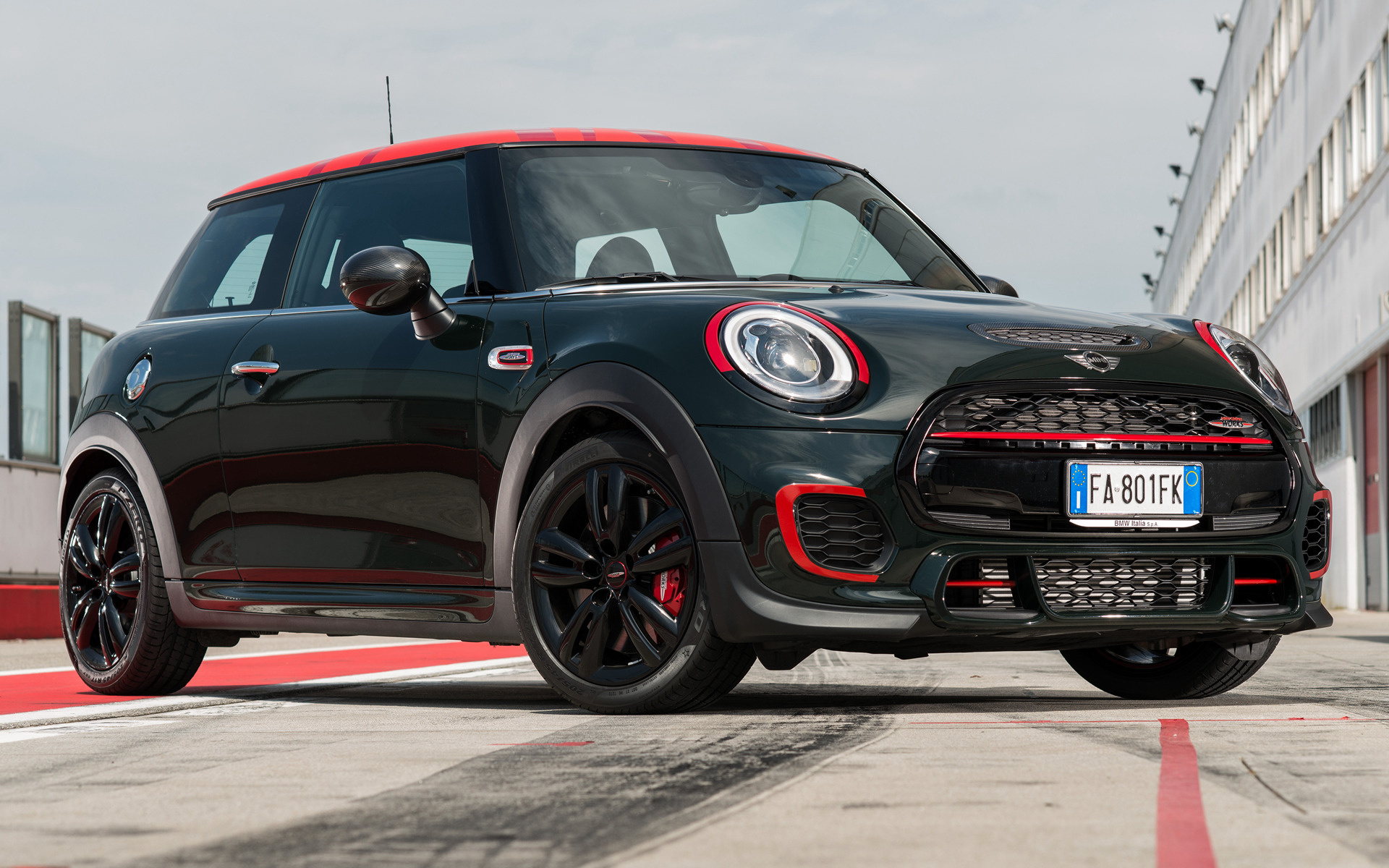 Wide 85 & Mini John Cooper Works Challenge Edition 3-door (2016) Wallpapers ...