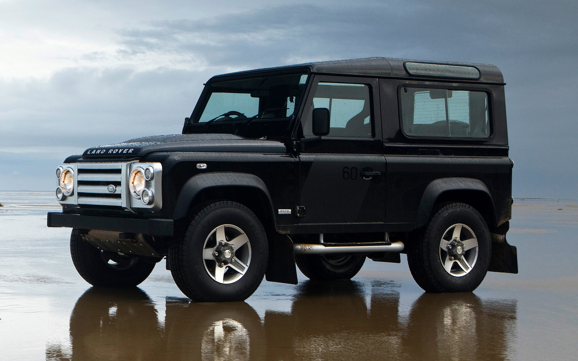 Land Rover Defender 90 SVX (2008) UK Wallpapers and HD ...