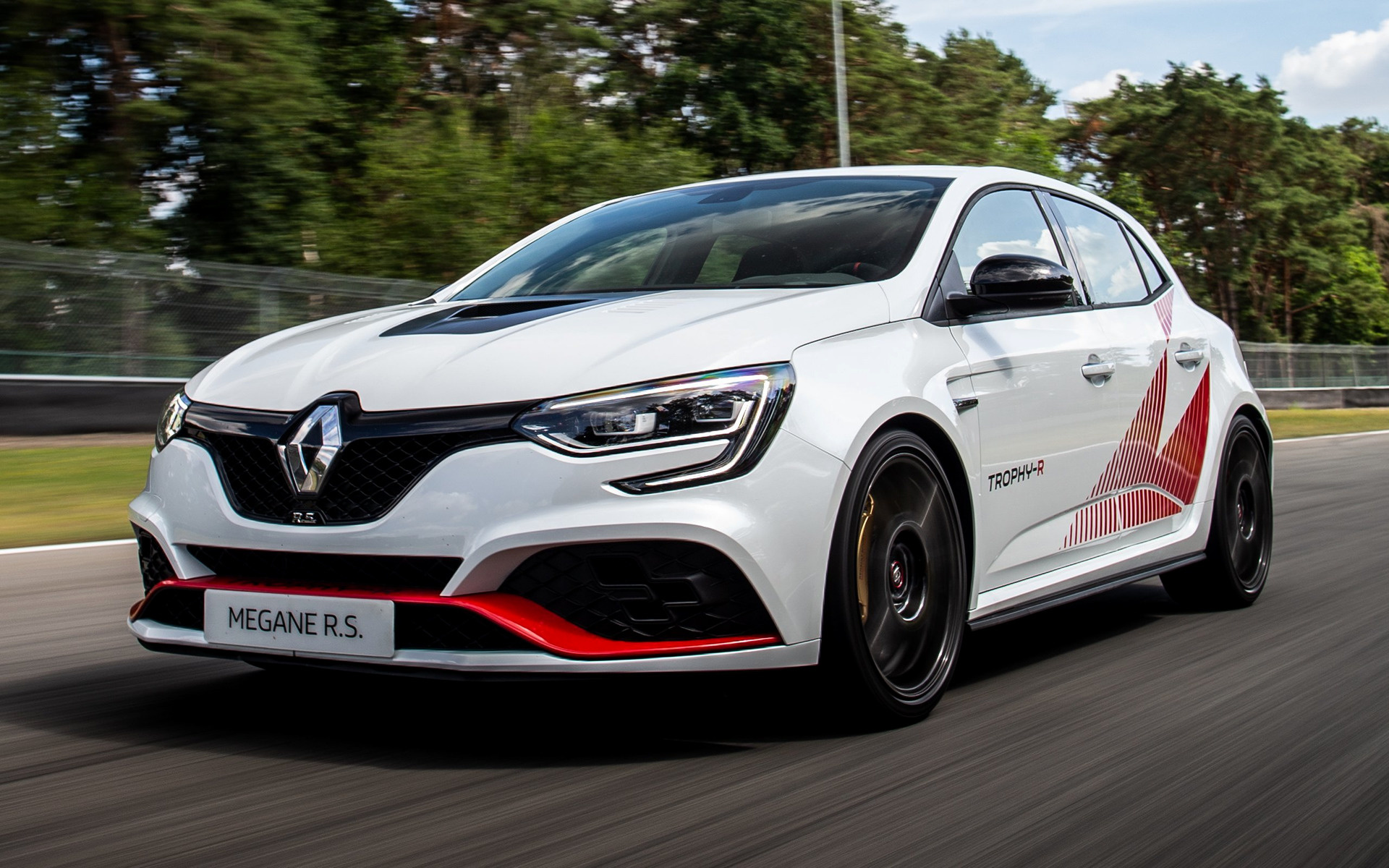 2019 Renault Megane Rs Trophy R Wallpapers And Hd Images Car Pixel