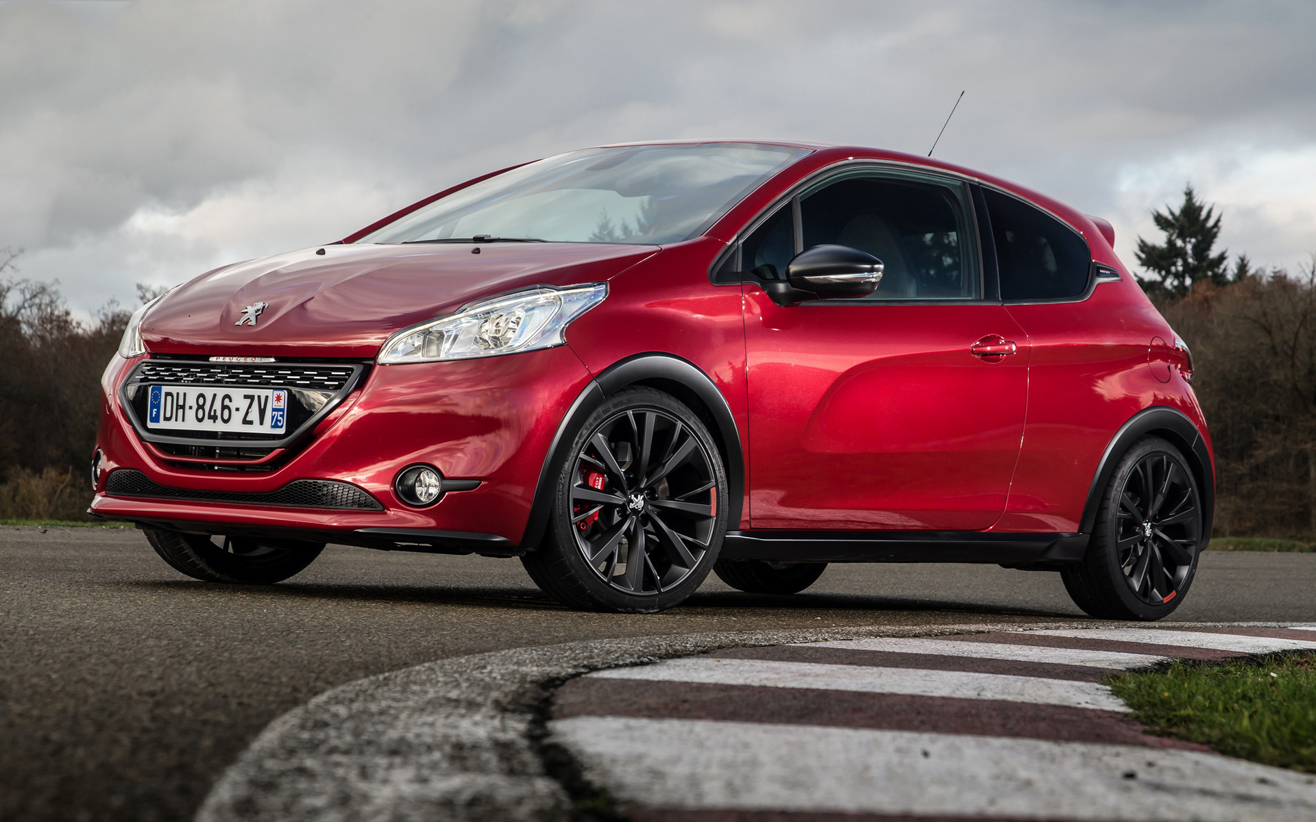 Jeep C Suv >> 2014 Peugeot 208 GTi 30th Anniversary - Wallpapers and HD ...