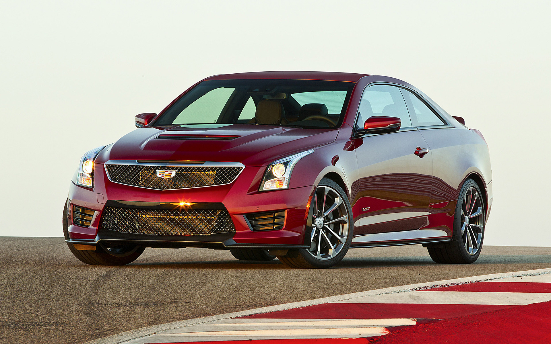 2016 Hyundai Genesis Coupe >> 2016 Cadillac ATS-V Coupe - Wallpapers and HD Images | Car ...