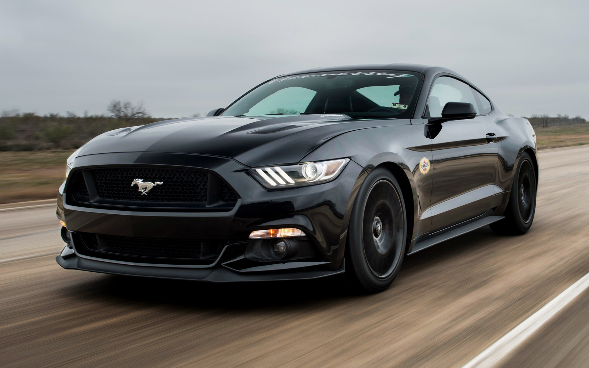 Hennessey Mustang Gt Hpe Supercharged Car Wallpaper on 2019 Dodge Ram