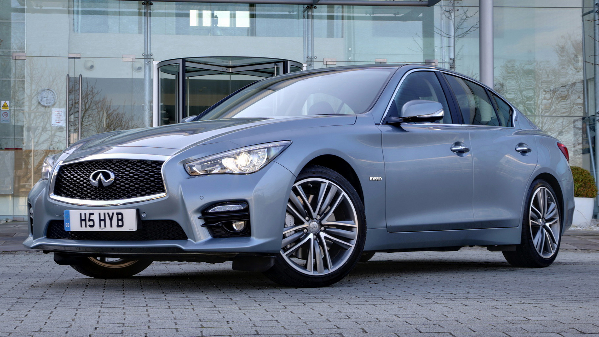 infiniti q50 sport hybrid 2014 uk wallpapers and hd images car pixel. Black Bedroom Furniture Sets. Home Design Ideas