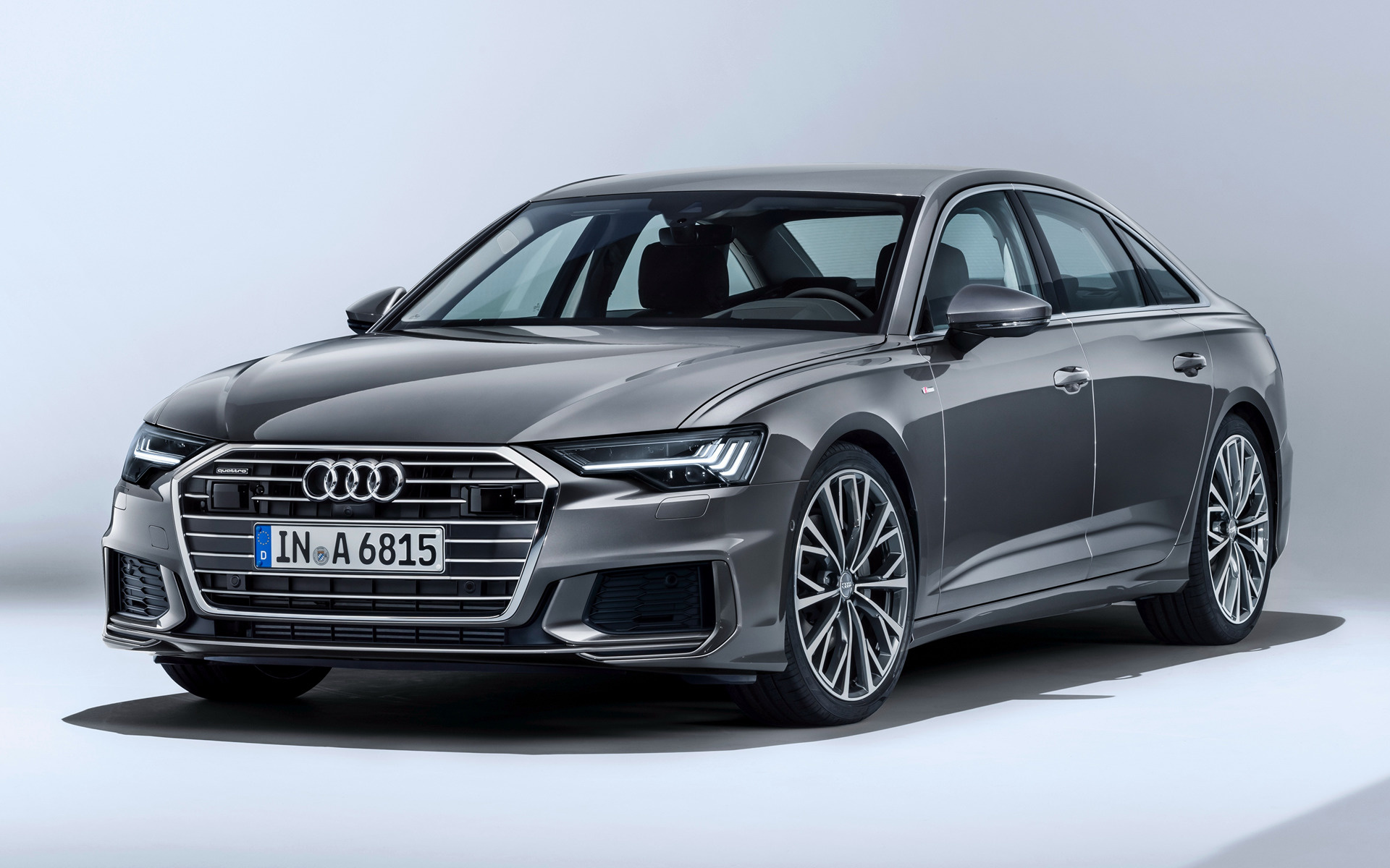 audi a6 sedan s line 2018 wallpapers and hd images car. Black Bedroom Furniture Sets. Home Design Ideas