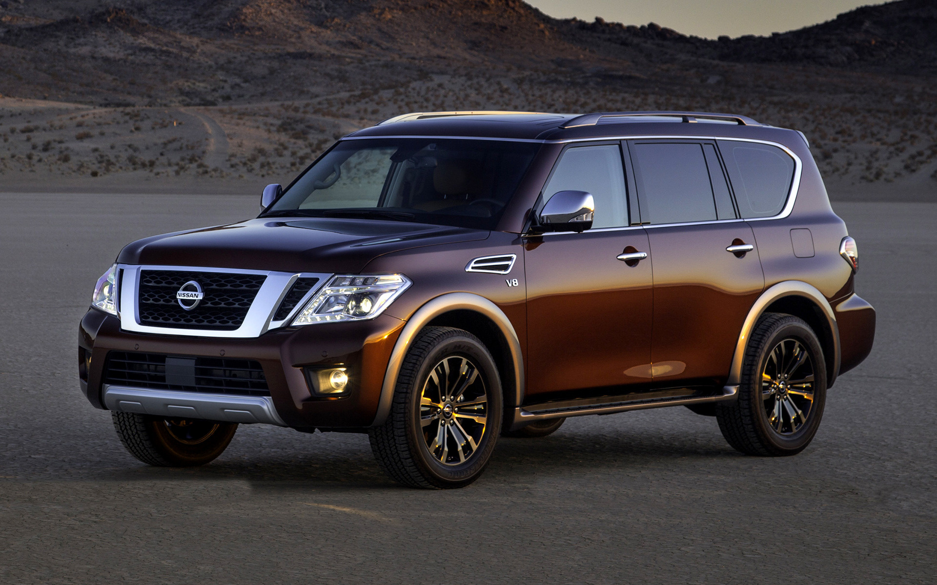 2017 Nissan Armada Platinum - Wallpapers and HD Images ...