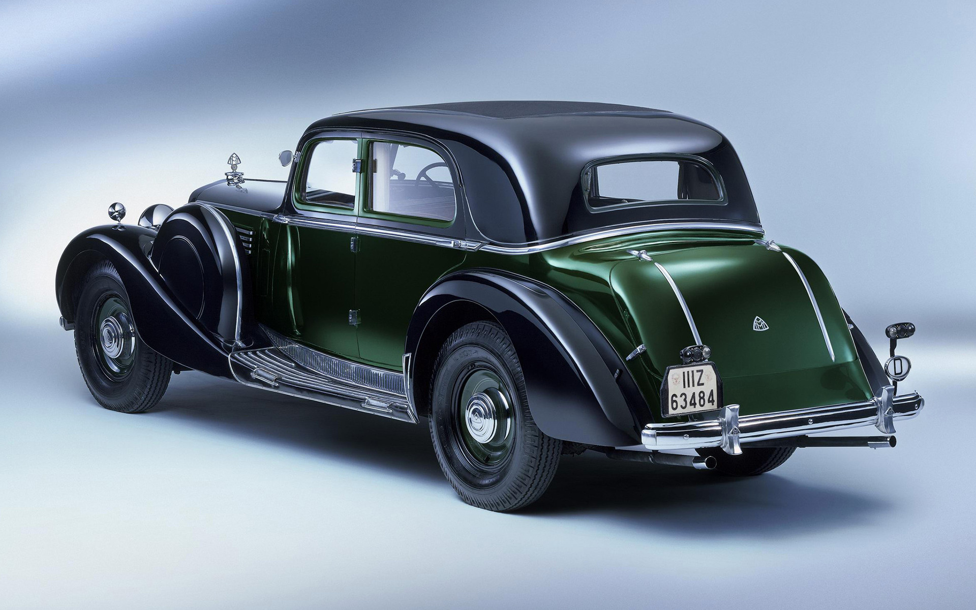 1938 Maybach Zeppelin DS8 Coupe Limousine - Wallpapers and ...