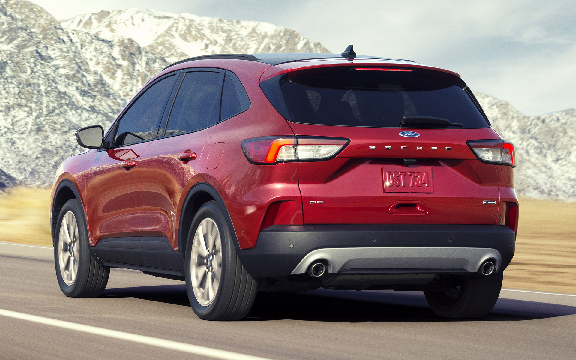 Ford Escape Titanium >> 2020 Ford Escape Hybrid - Wallpapers and HD Images | Car Pixel