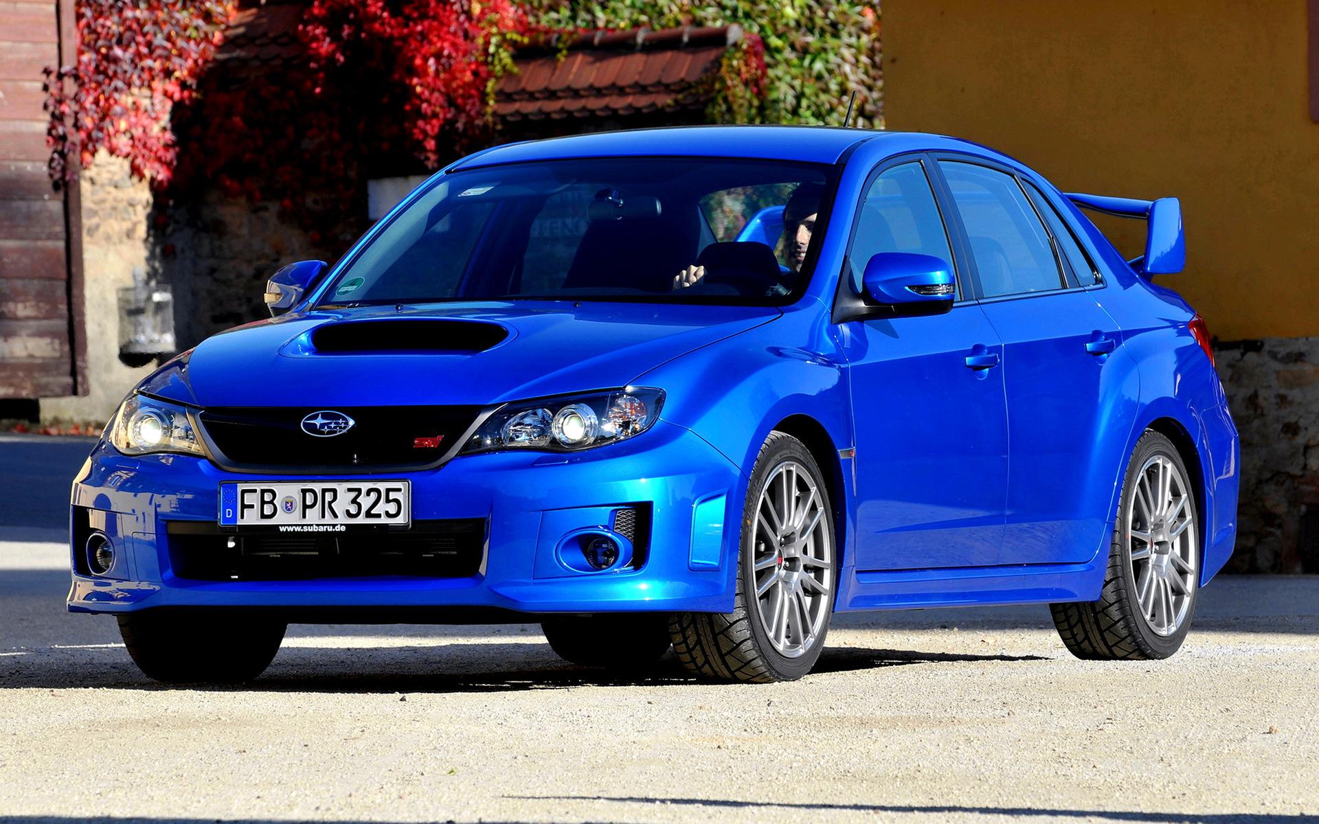 2010 Subaru Impreza Wrx Sti Sedan Wallpapers And Hd