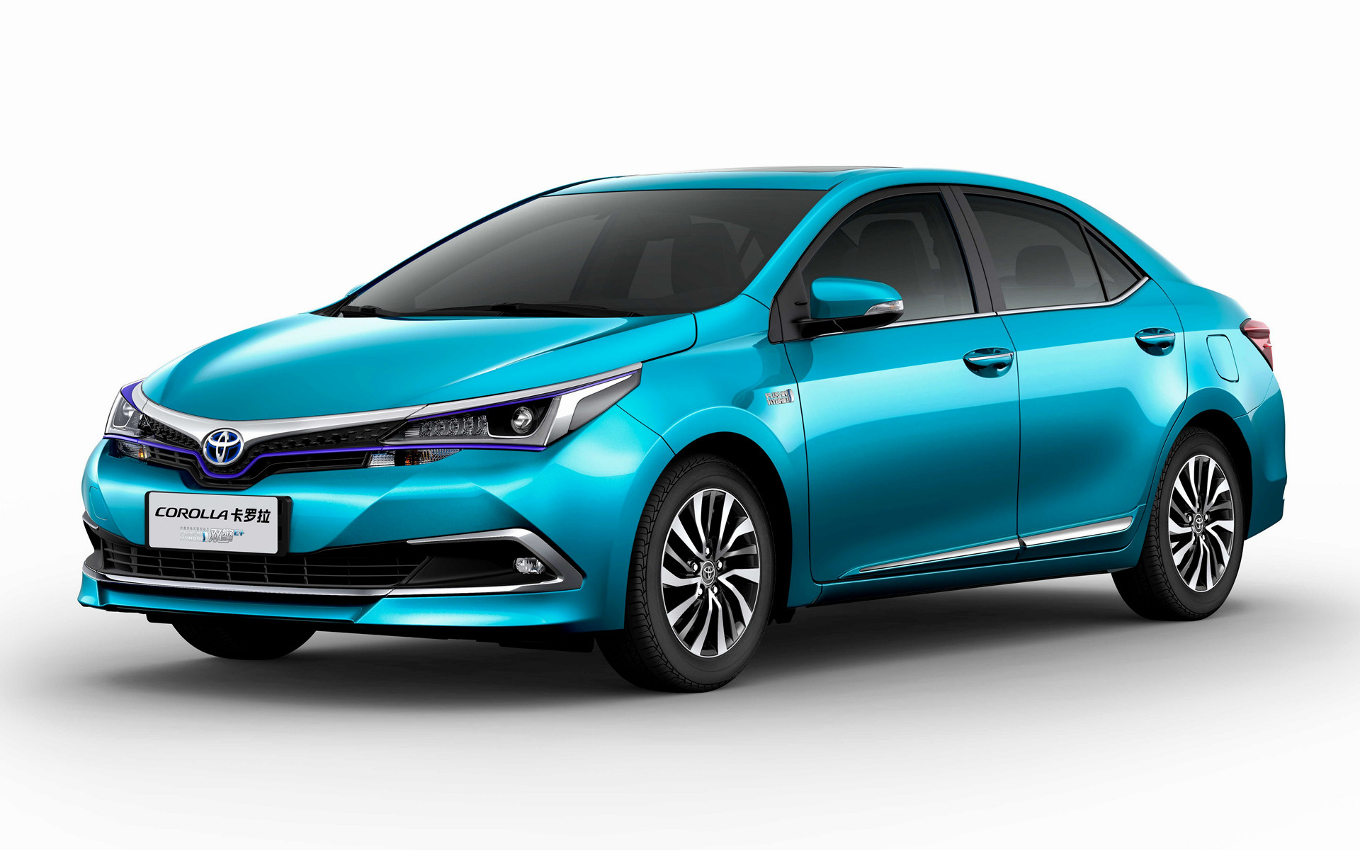 2018 Toyota Corolla Plug-in Hybrid (CN) - Wallpapers and HD Images | Car Pixel