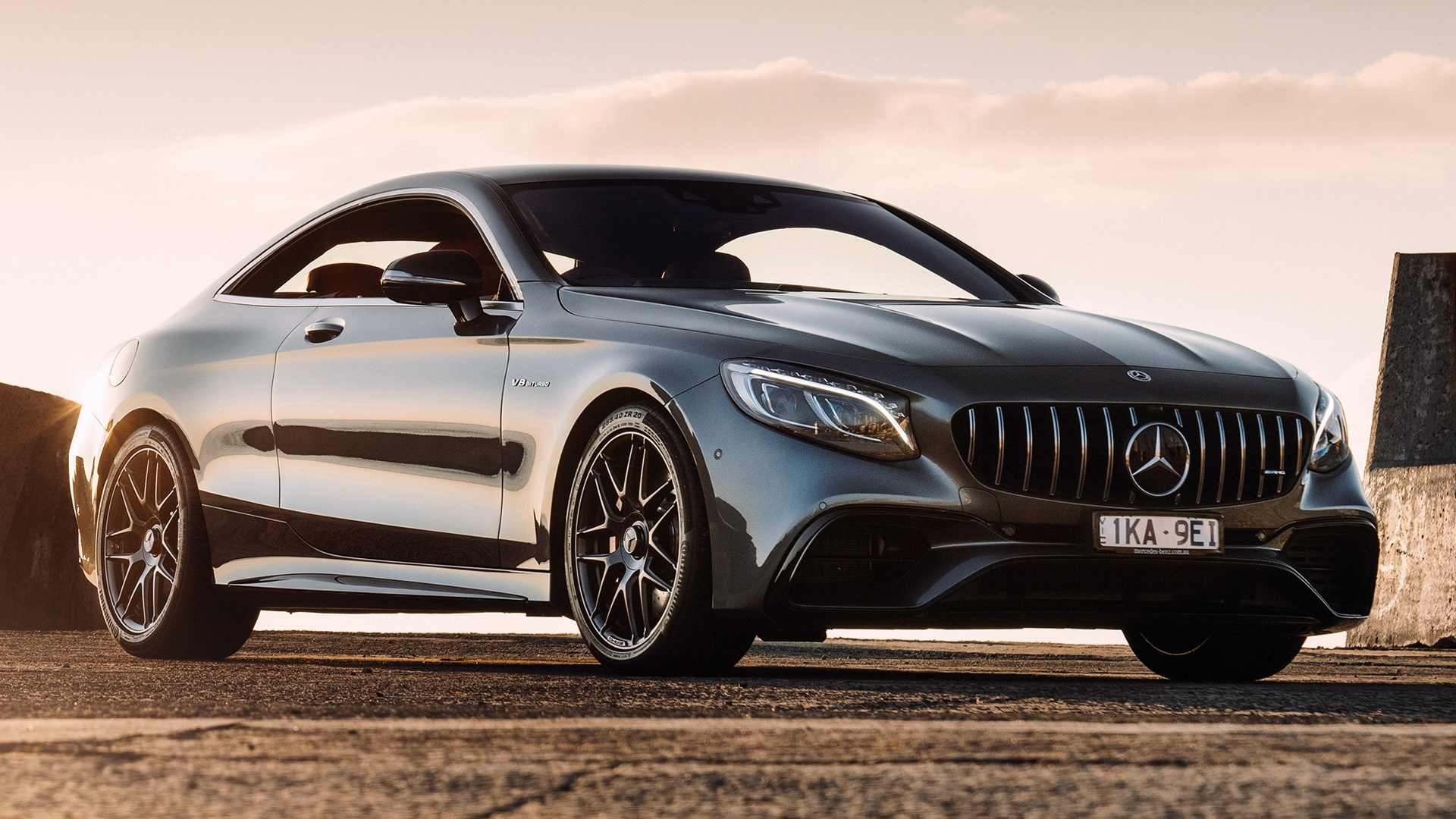 Honda Coupe 2017 >> 2018 Mercedes-AMG S 63 Coupe (AU) - Wallpapers and HD Images | Car Pixel