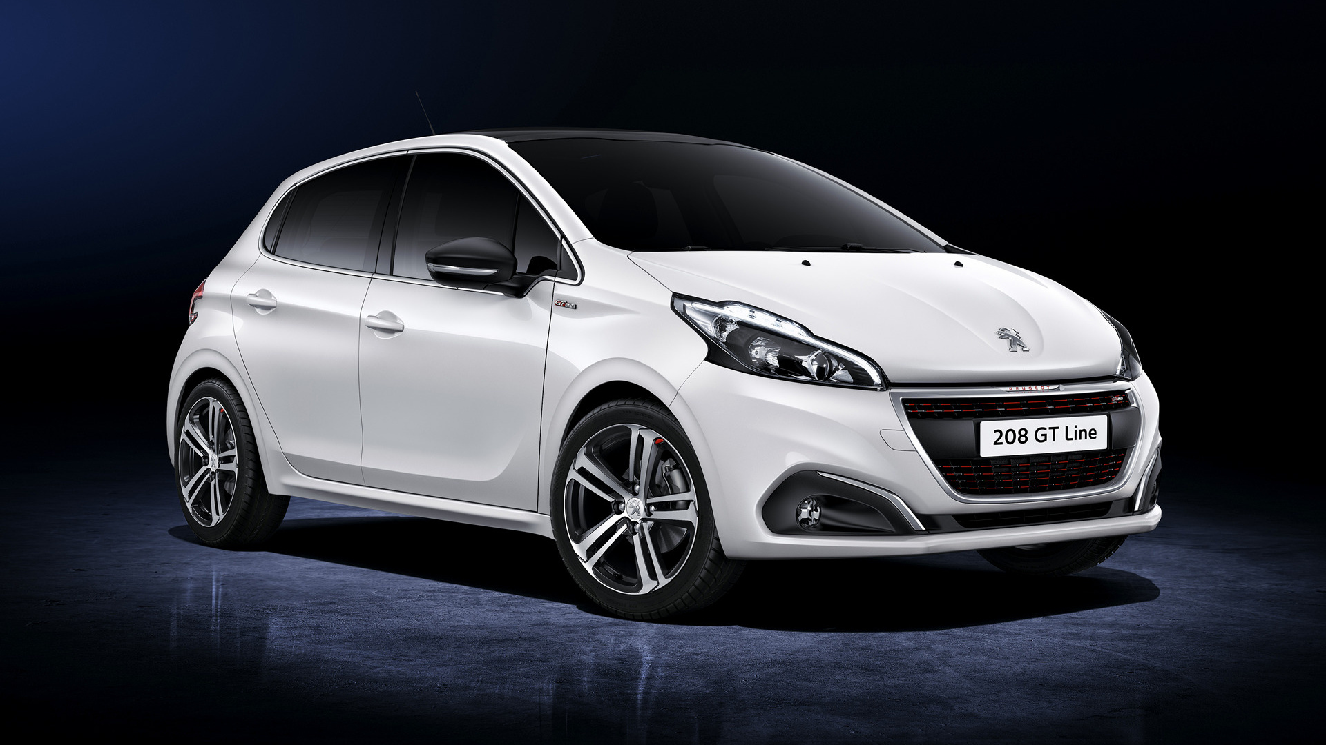 2015 peugeot 208 gt line 5 door wallpapers and hd images car pixel. Black Bedroom Furniture Sets. Home Design Ideas