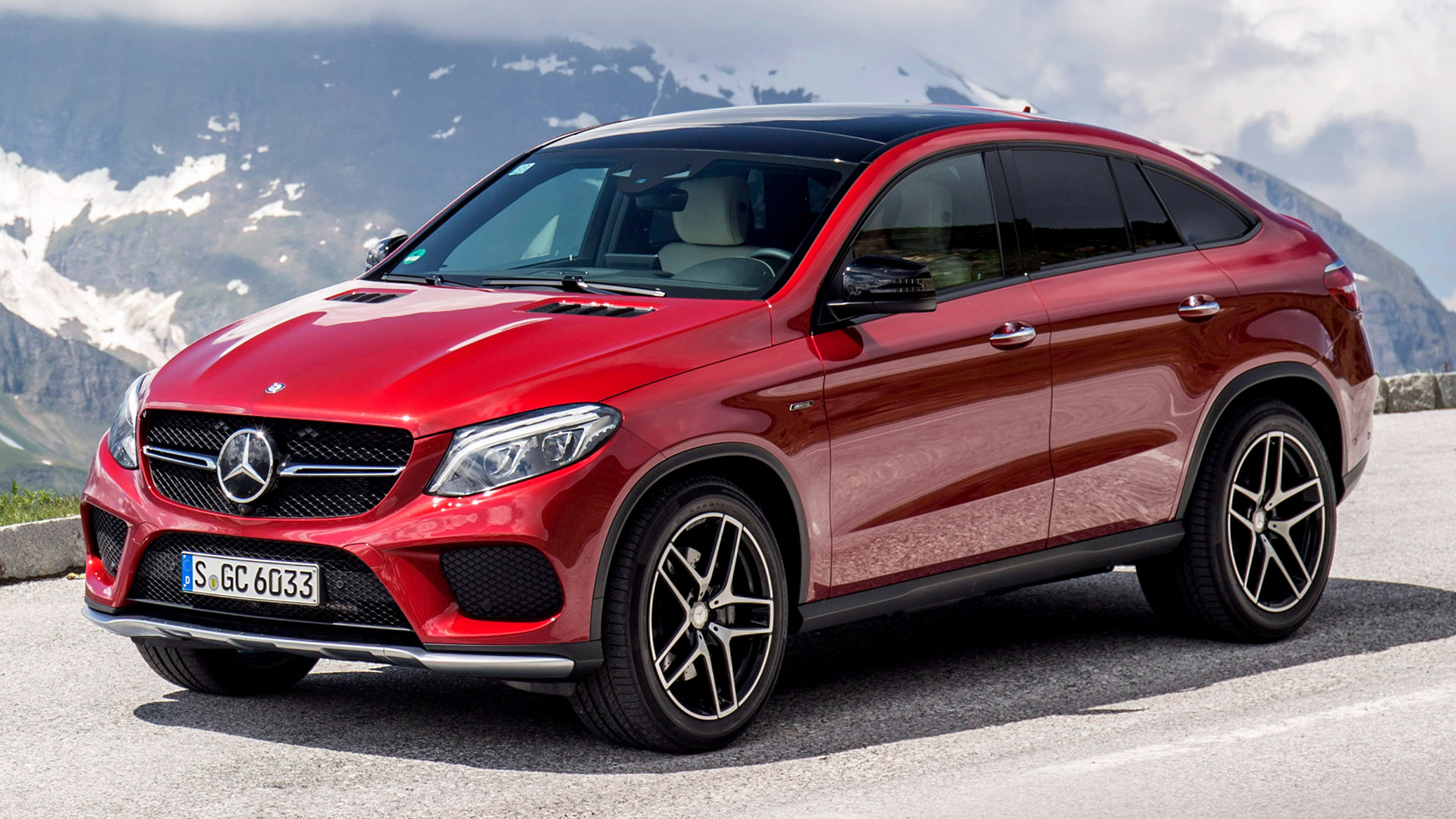 2015 Mercedes Benz Gle 450 Amg Coupe Wallpapers And Hd
