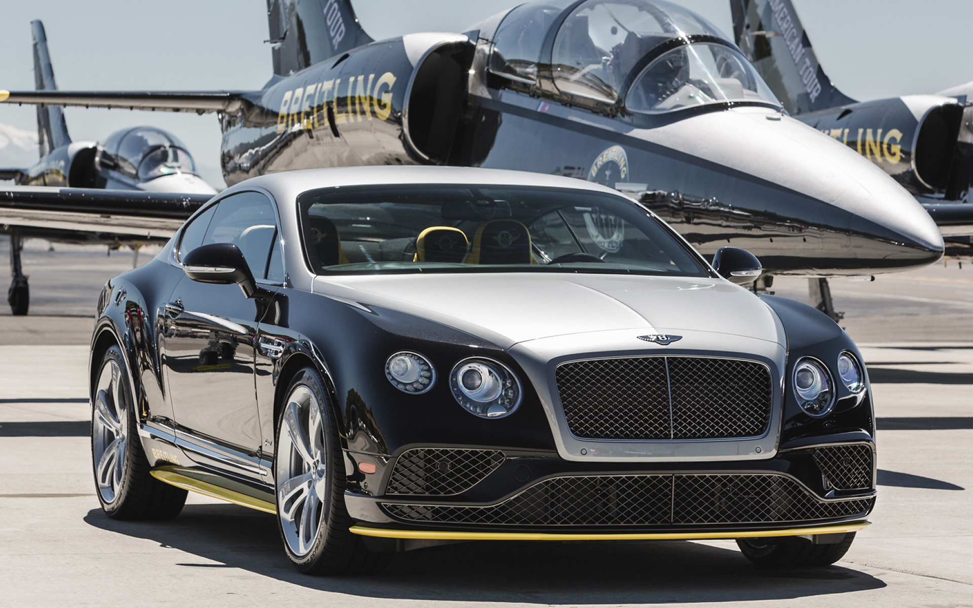 Bentley Continental GT Speed Breitling Jet Team Series by ...