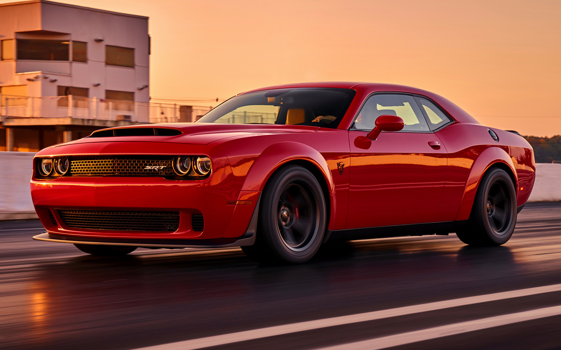 dodge challenger srt demon (2018) wallpapers and hd images - car pixel