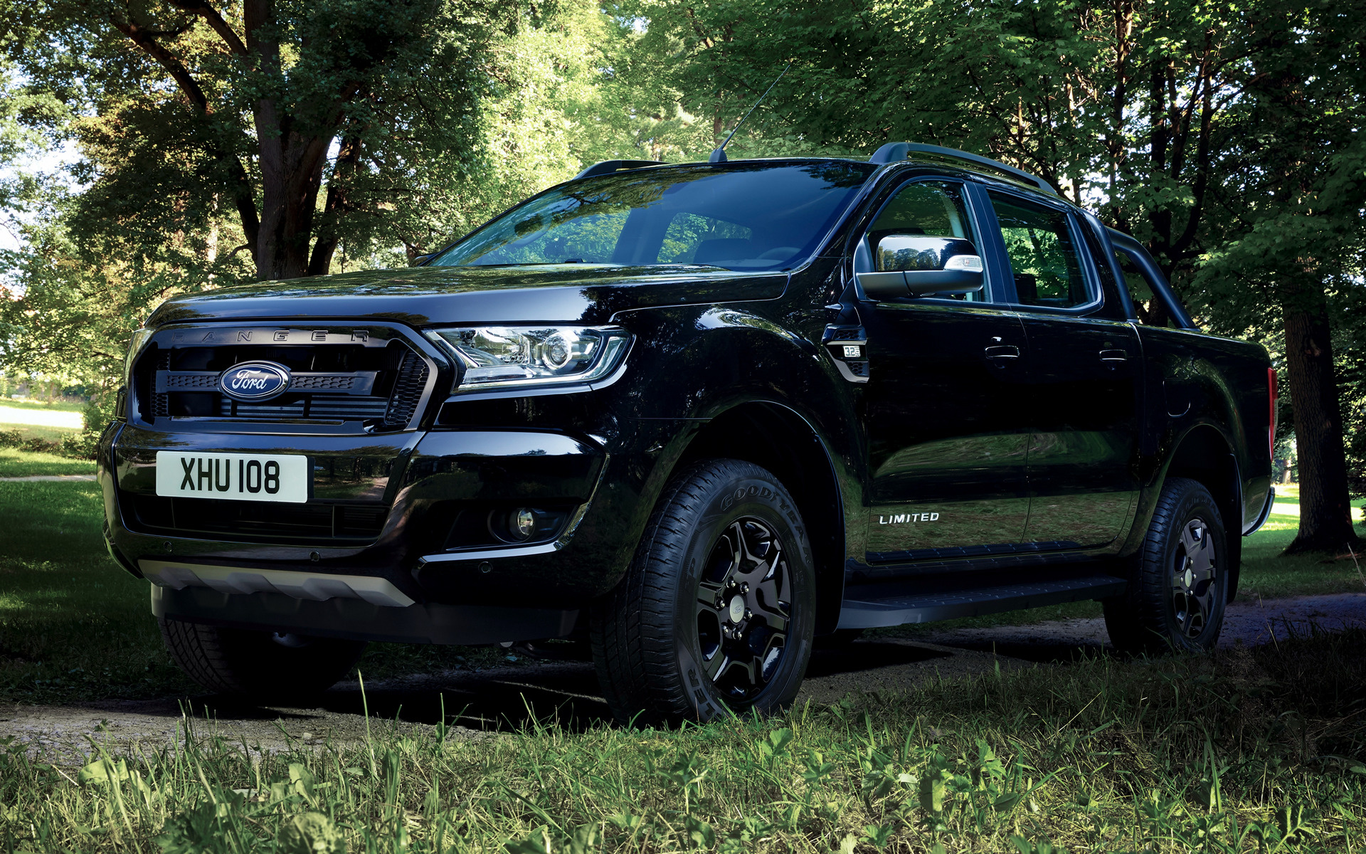 2017 ford ranger limited double cab black edition. Black Bedroom Furniture Sets. Home Design Ideas