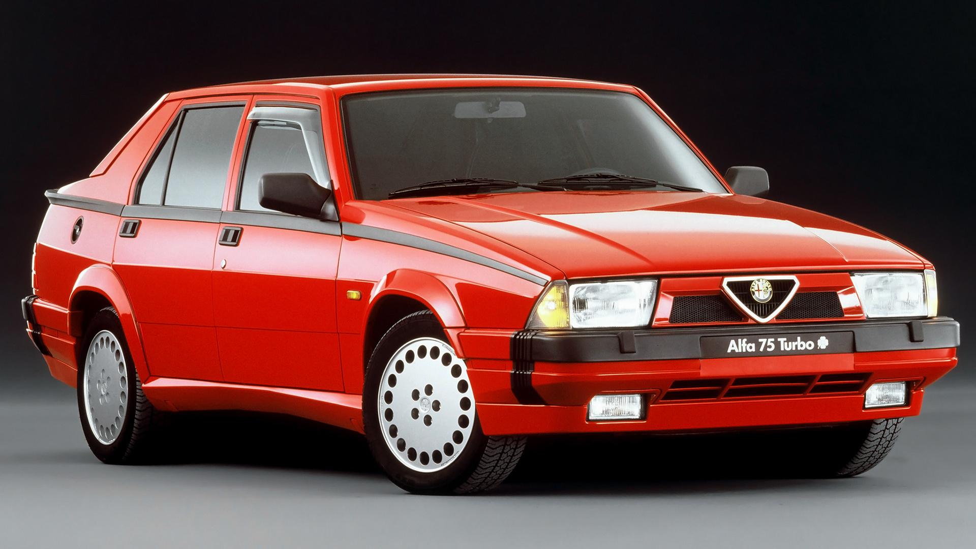 1988 Alfa Romeo 75 Quadrifoglio Verde Wallpapers And Hd Images Car Pixel