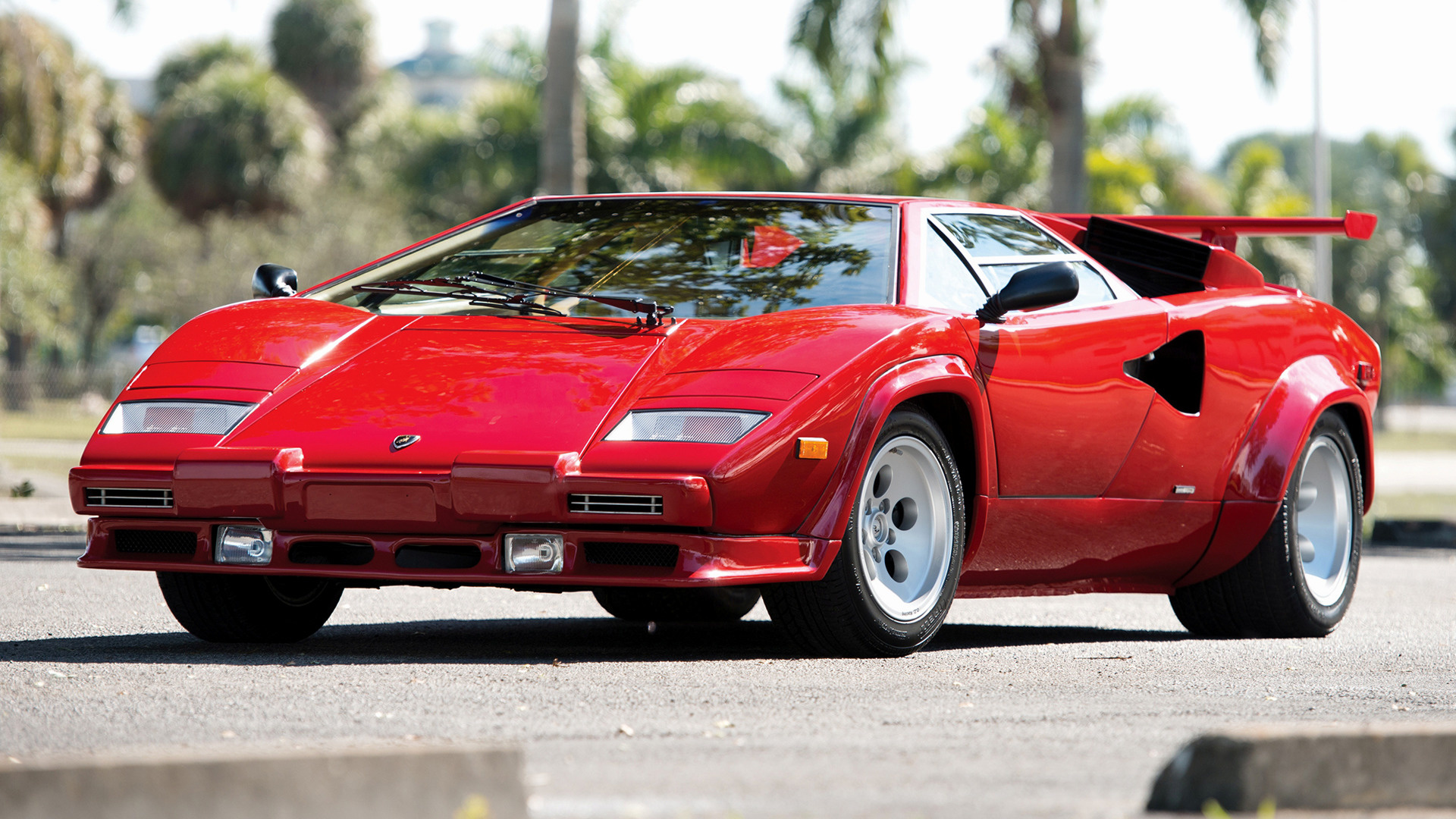 1985 Lamborghini Countach 5000 Quattrovalvole (US) - Wallpapers ...