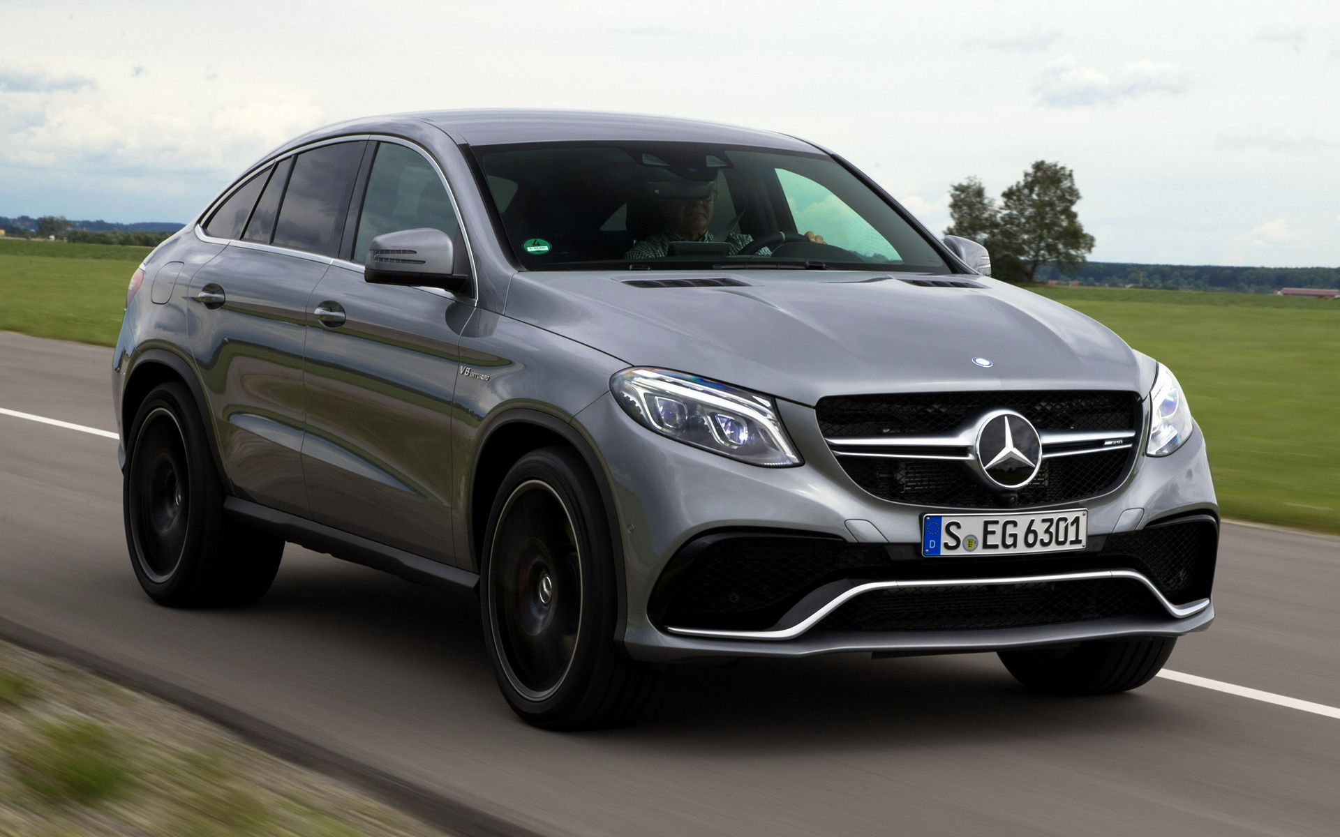 Mercedes Benz Gle Coupe >> 2015 Mercedes-AMG GLE 63 S Coupe - Wallpapers and HD ...