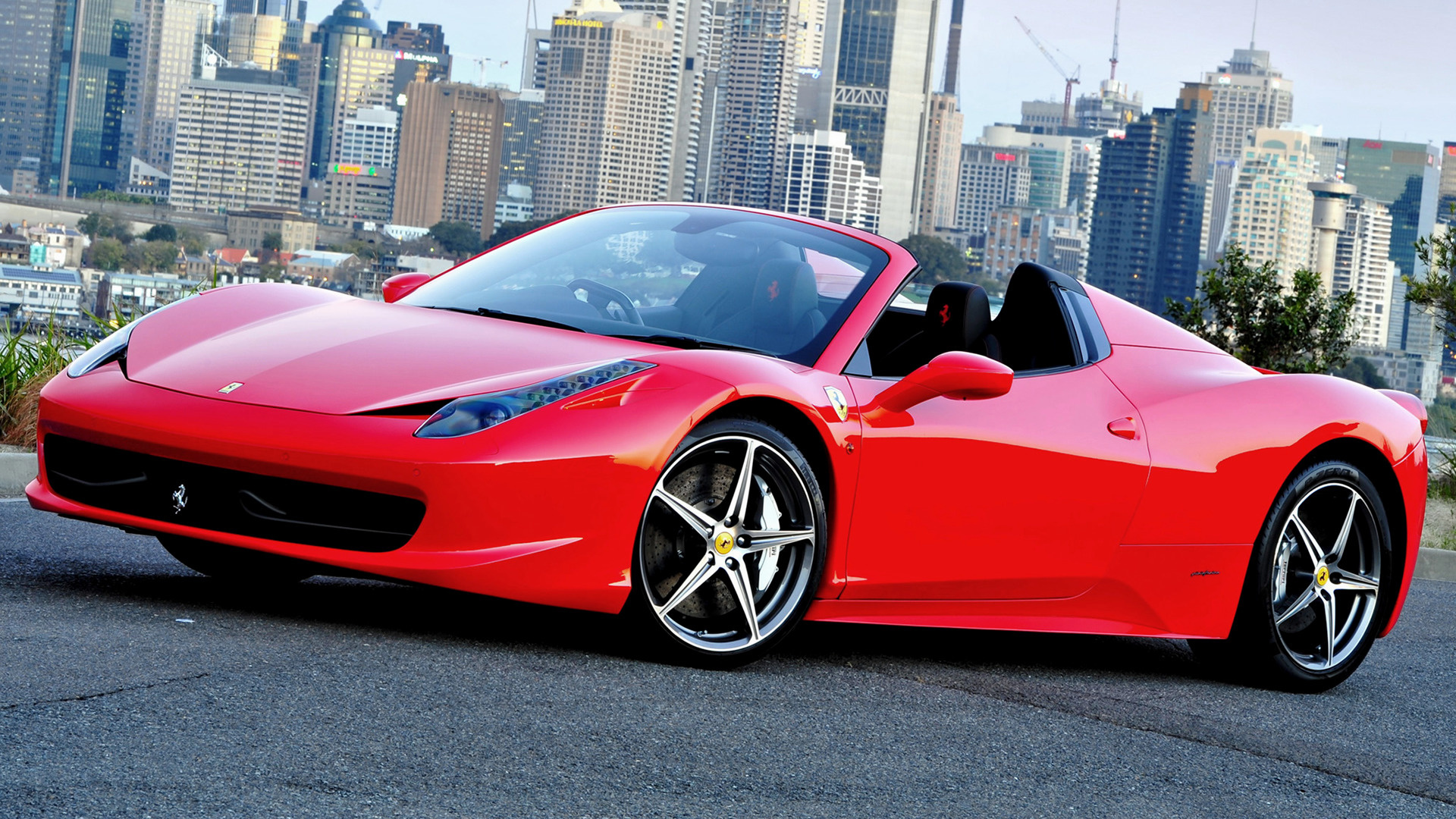 2012 Ferrari 458 Spider Au Wallpapers And Hd Images Car Pixel