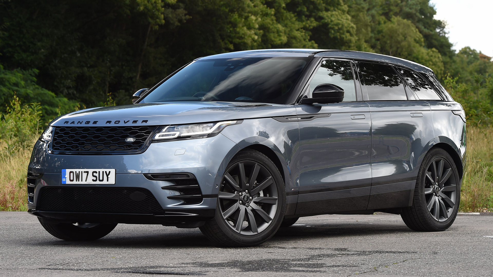 range rover velar r dynamic black pack 2017 uk wallpapers and hd images car pixel. Black Bedroom Furniture Sets. Home Design Ideas
