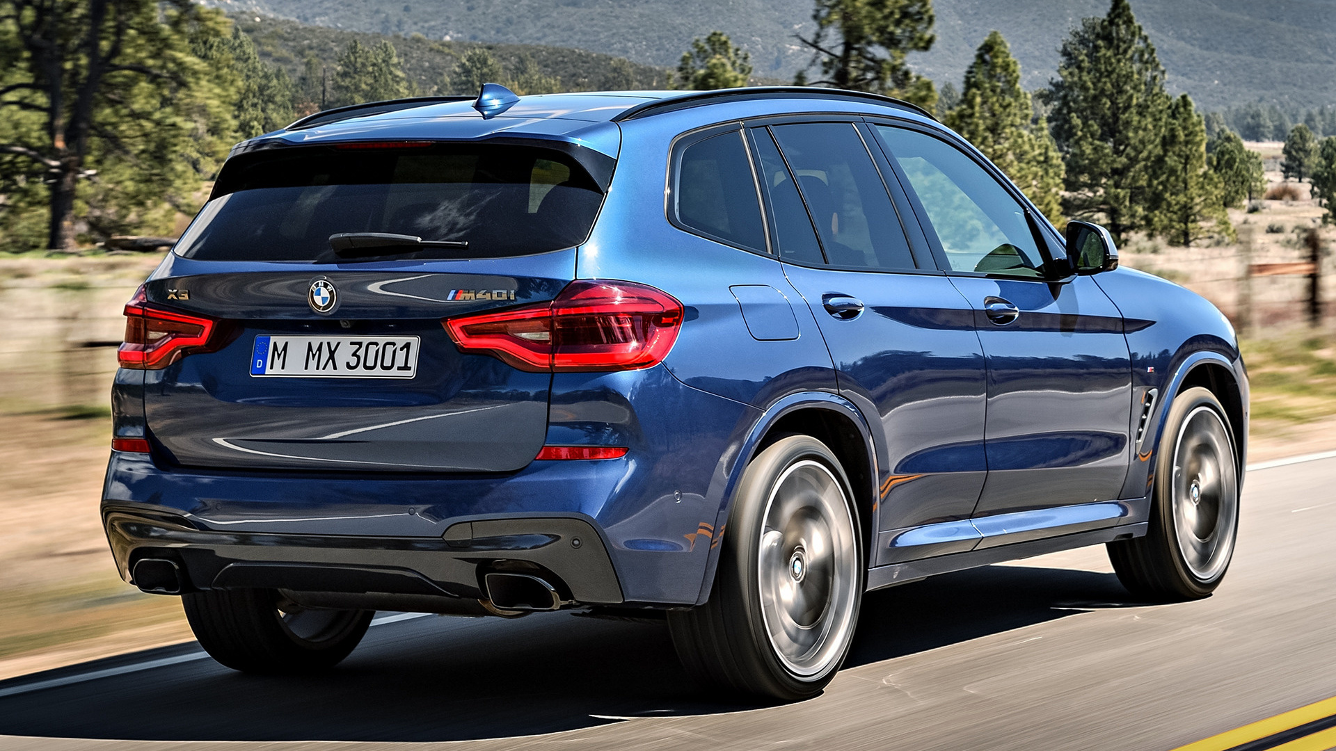 2017 BMW X3 M40i - Wallpapers and HD Images | Car Pixel