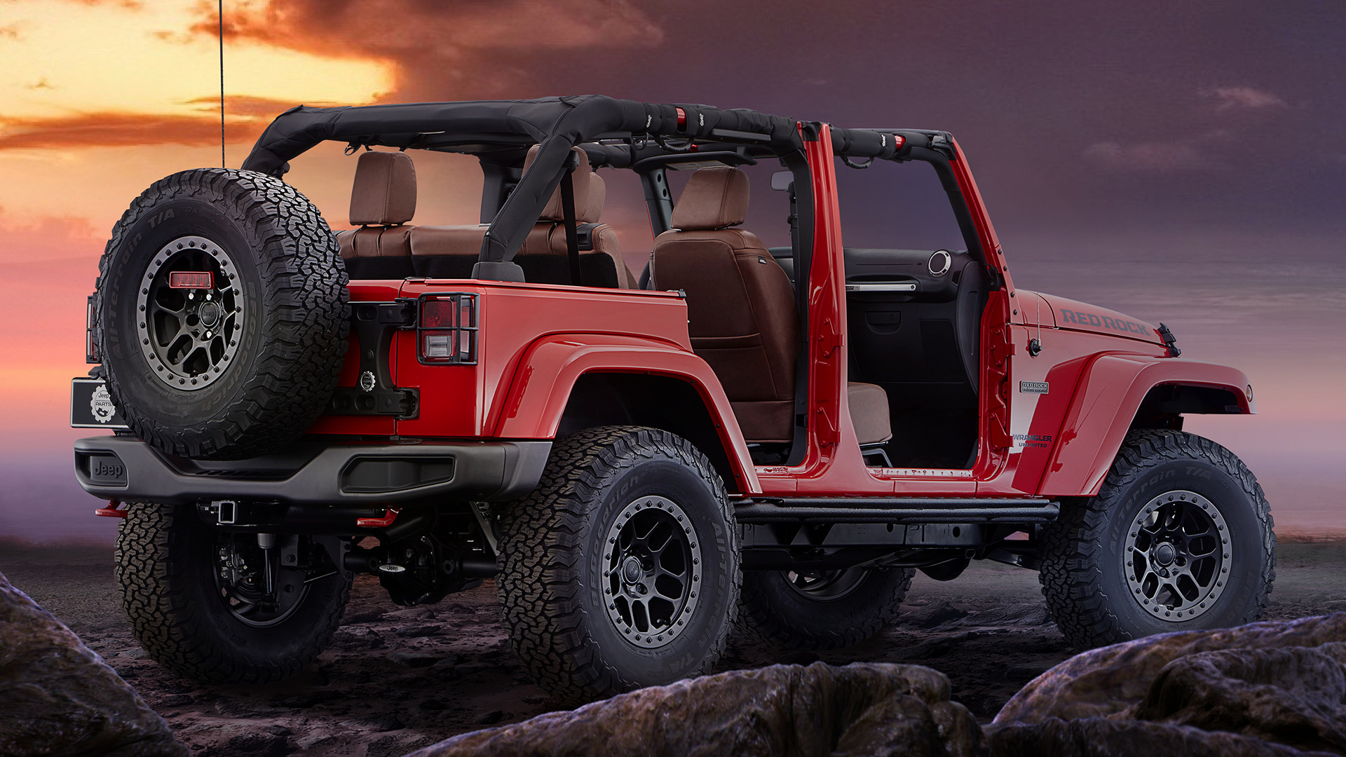 Jeep Wrangler Red Rock Concept (2015) Wallpapers and HD ...