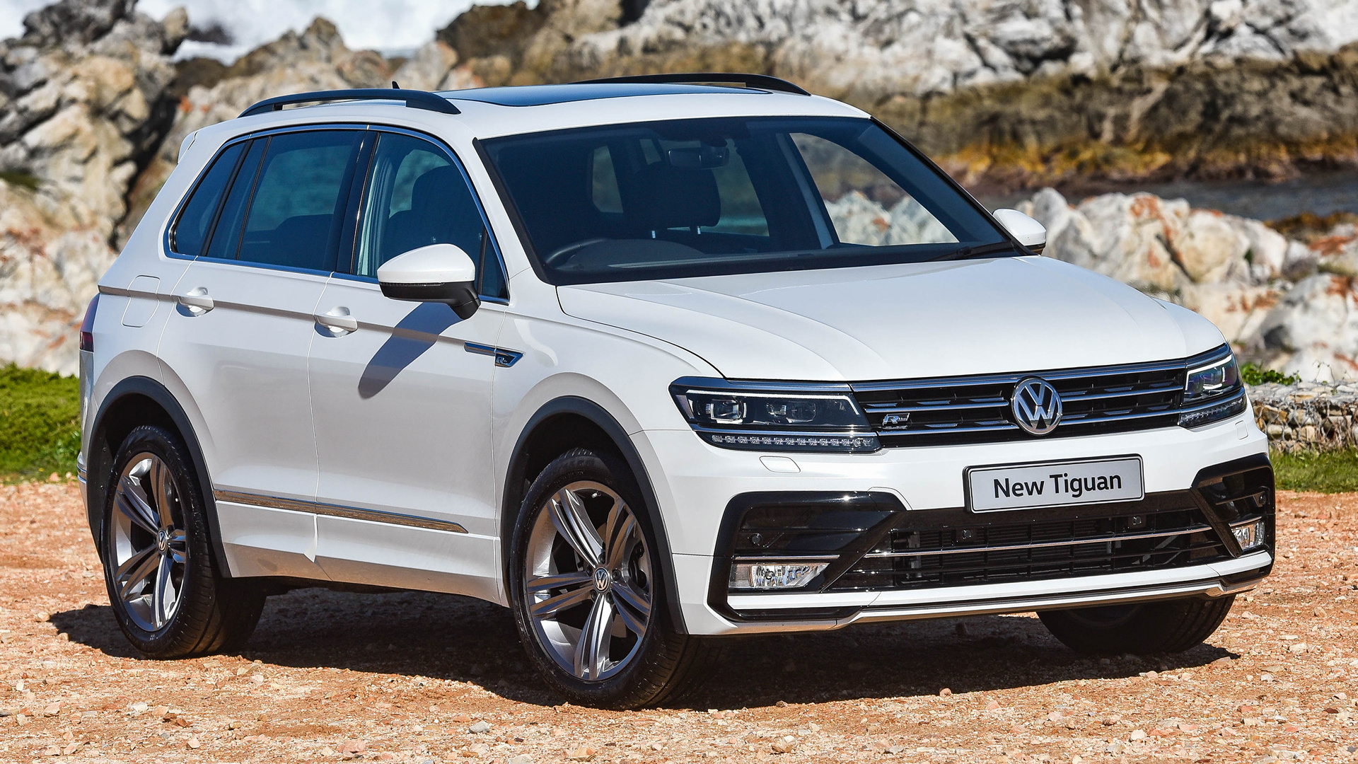 volkswagen tiguan r line 2016 za wallpapers and hd. Black Bedroom Furniture Sets. Home Design Ideas
