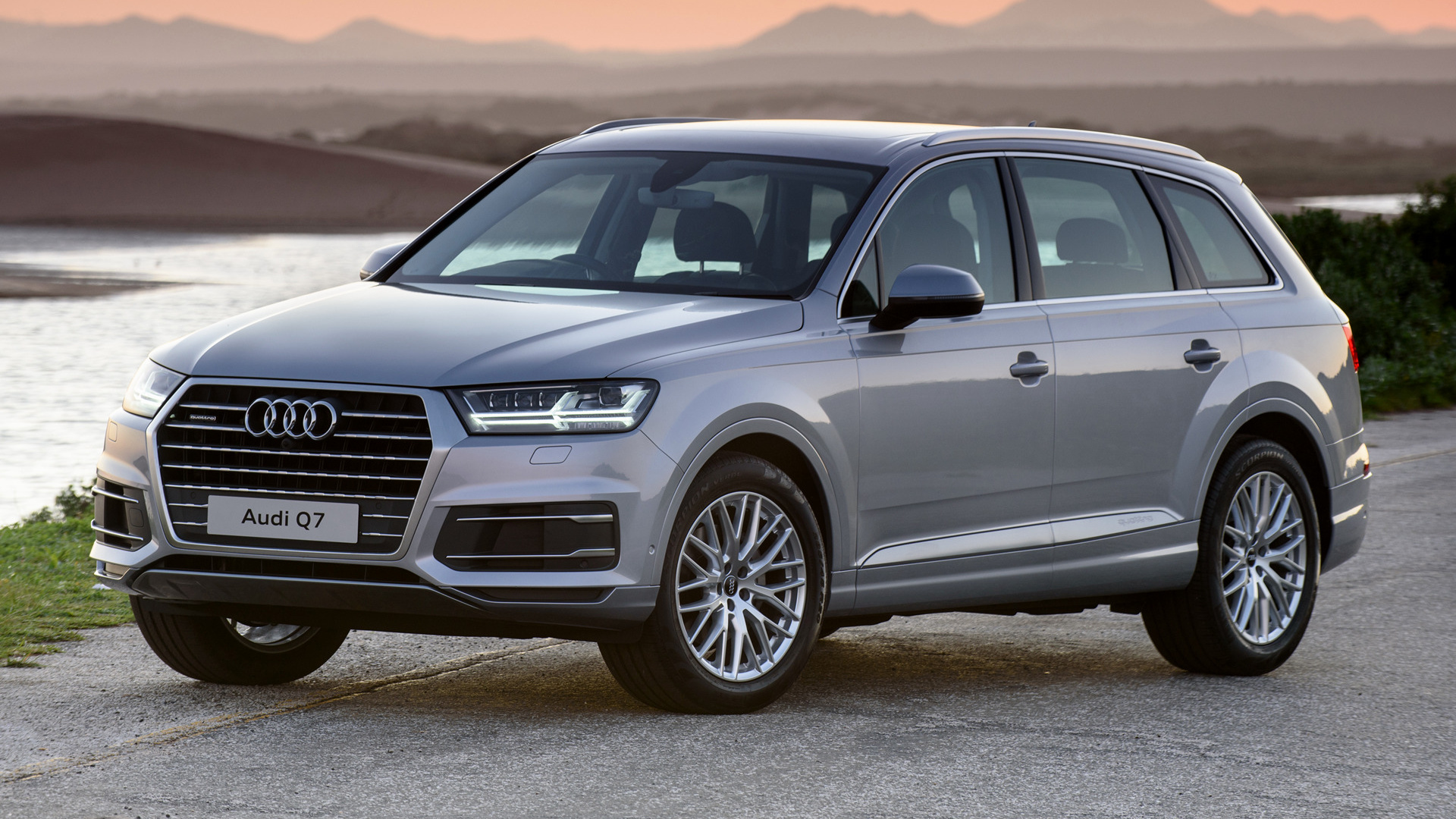audi q7 2015 za wallpapers and hd images car pixel. Black Bedroom Furniture Sets. Home Design Ideas