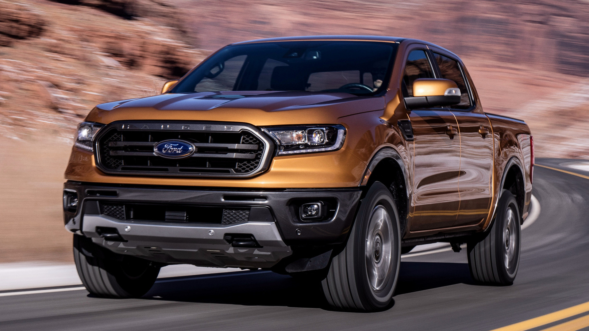 2019 Ford Ranger Lariat Fx4 Supercrew Us Wallpapers