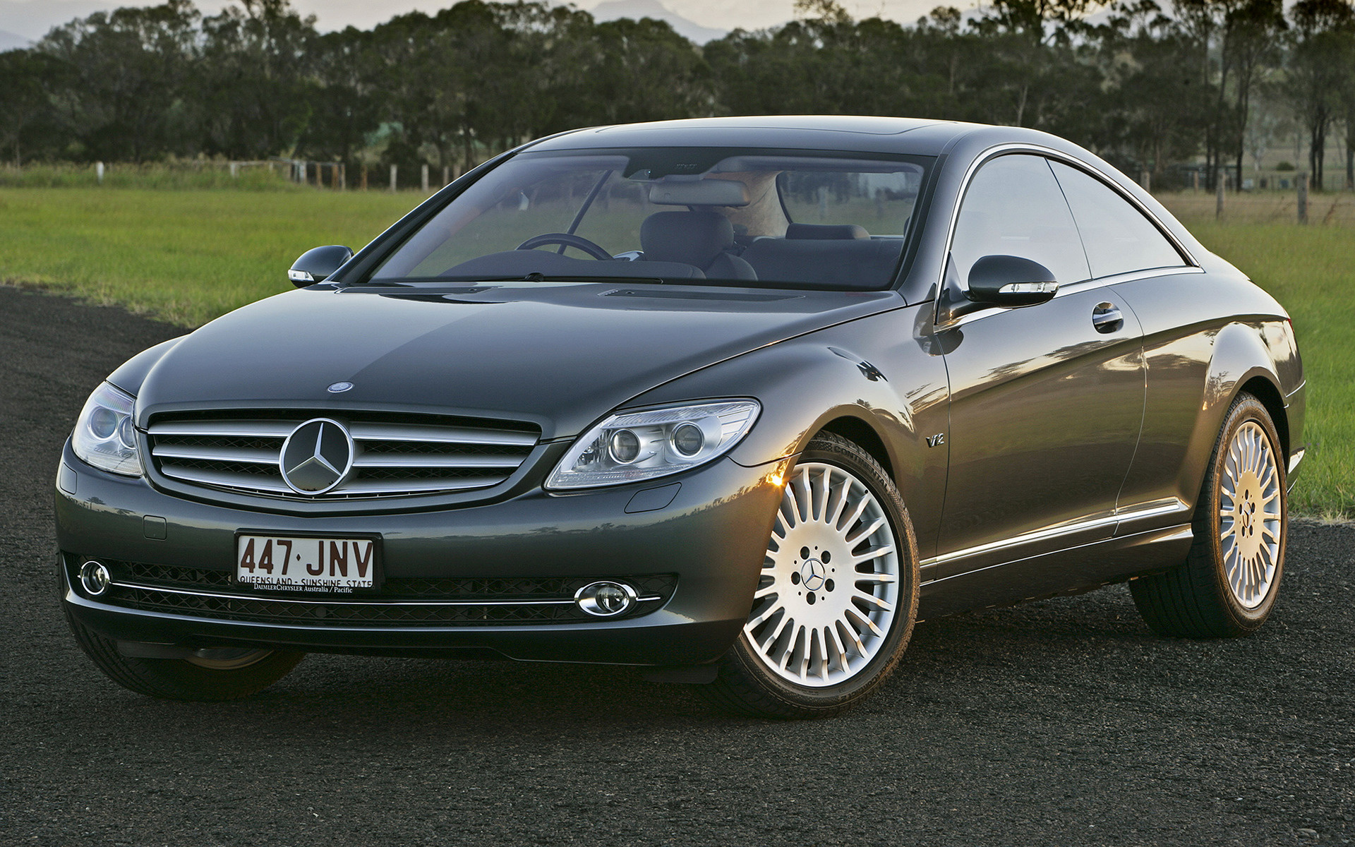 Mercedes benz cl class 2007 au wallpapers and hd images for Mercedes benz cl coupe