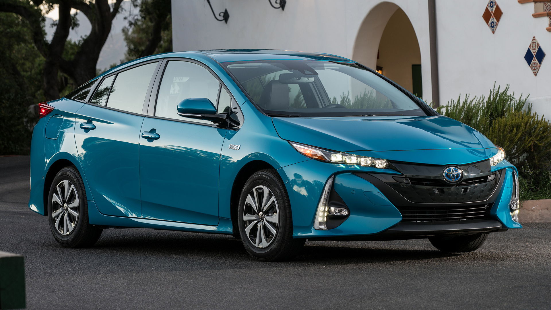 Toyota Prius Prime Plug In Hybrid 2017 Us Wallpapers And