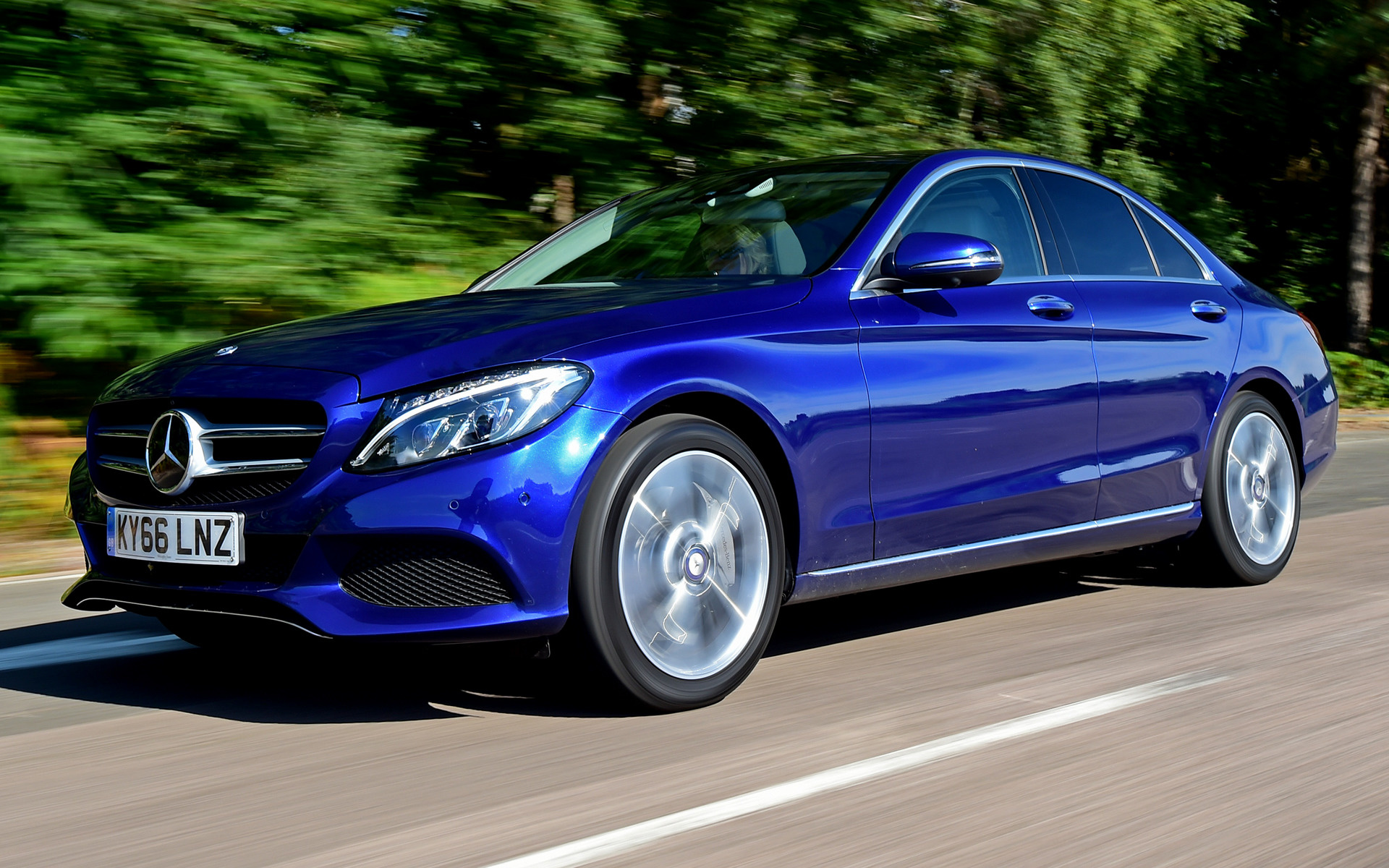 Mercedes-Benz C-Class Plug-in Hybrid (2016) UK Wallpapers and HD ...