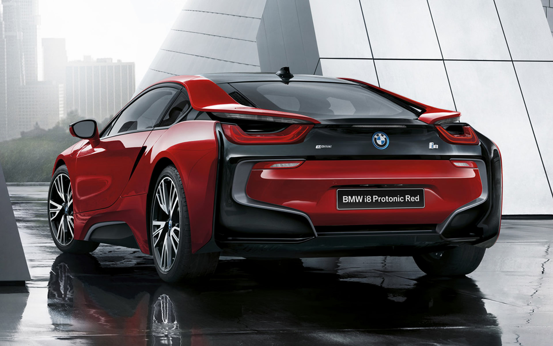 bmw i8 protonic red edition (2016) wallpapers and hd images - car pixel