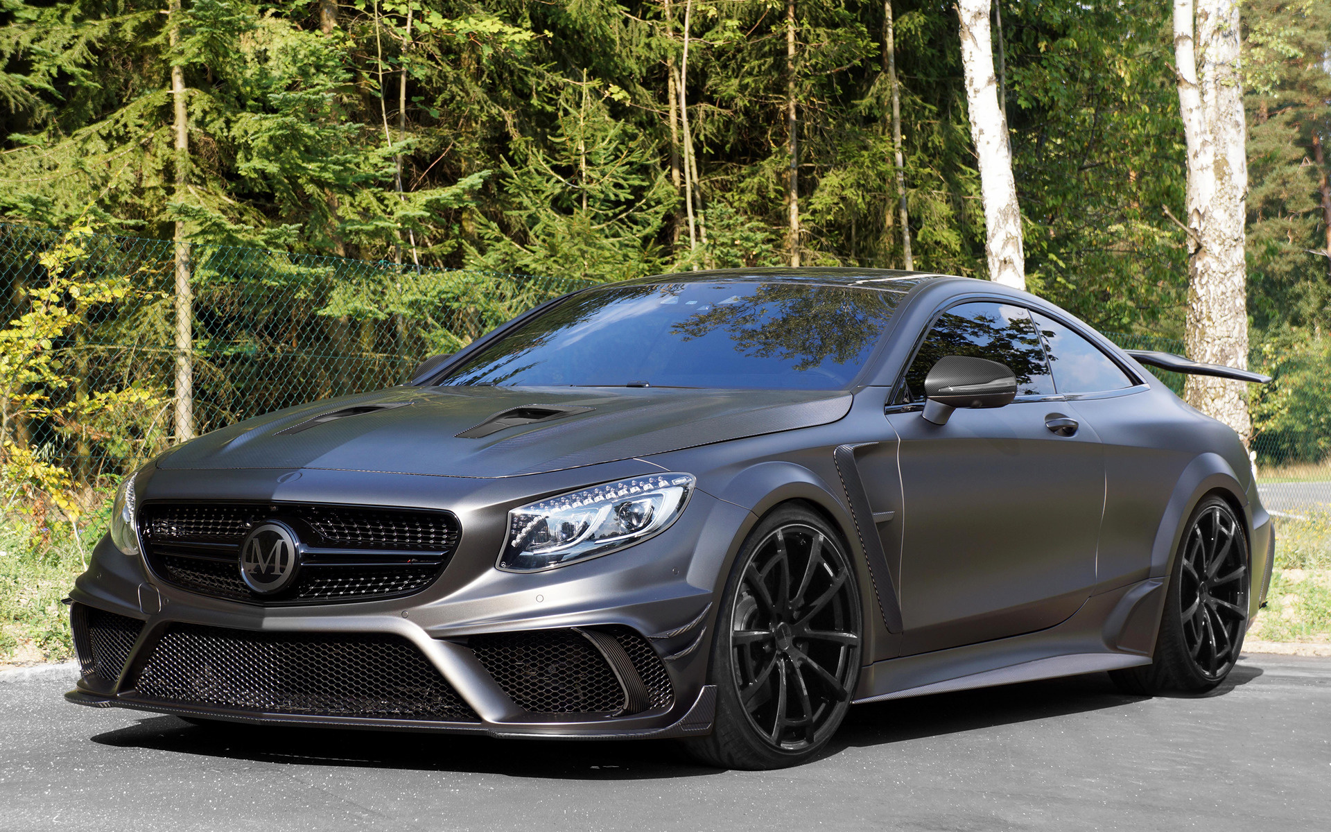 mercedes benz s 63 amg coupe black edition by mansory. Black Bedroom Furniture Sets. Home Design Ideas