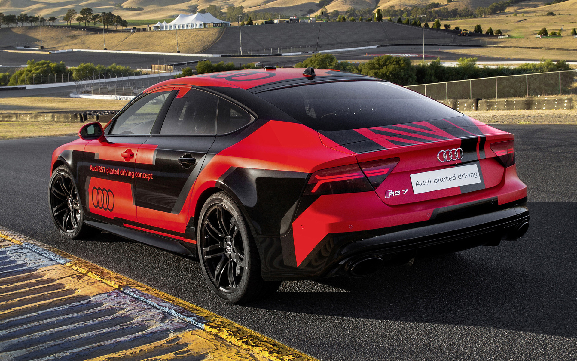 Audi RS 7 Sportback piloted driving concept 2015 Wallpapers and HD