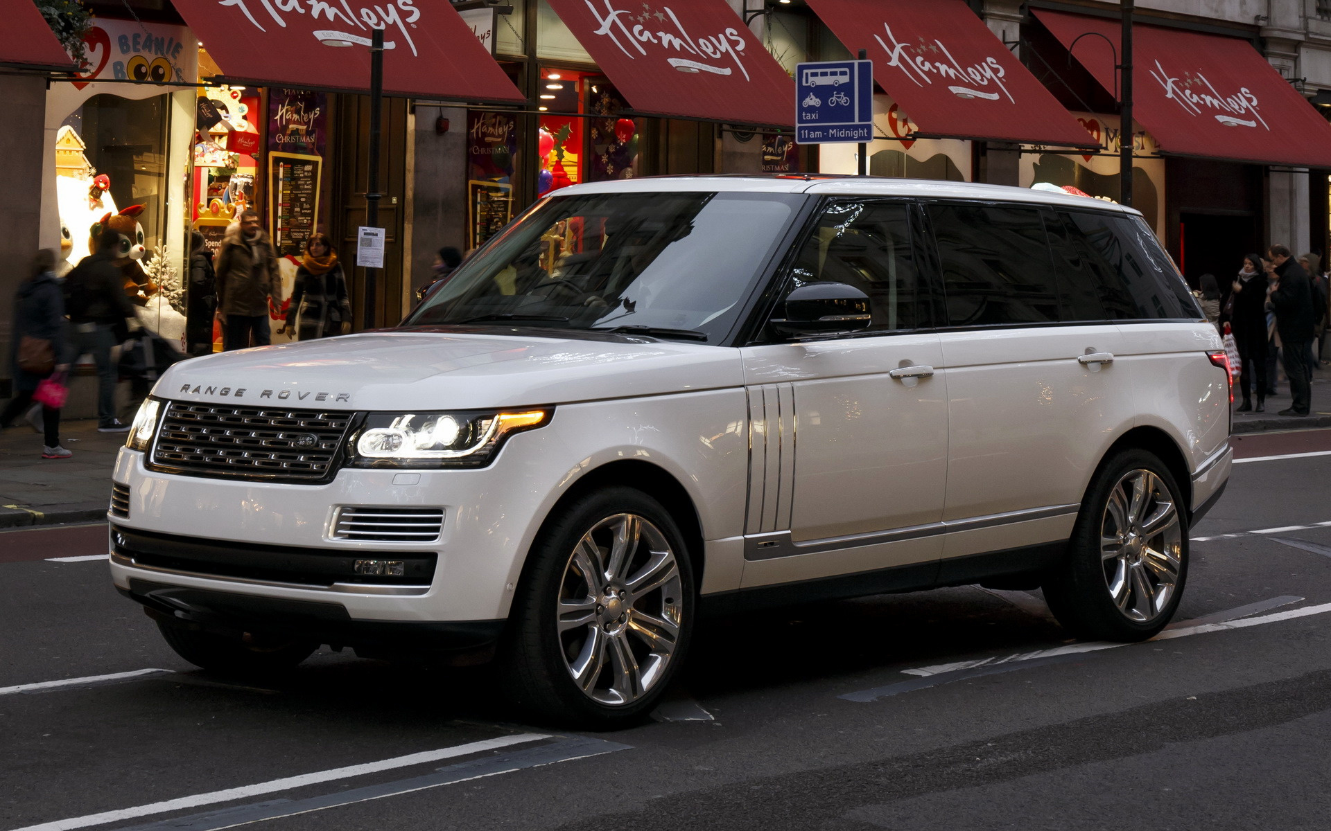 Range Rover Autobiography >> 2014 Range Rover Autobiography Black [LWB] (UK) - Wallpapers and HD Images | Car Pixel
