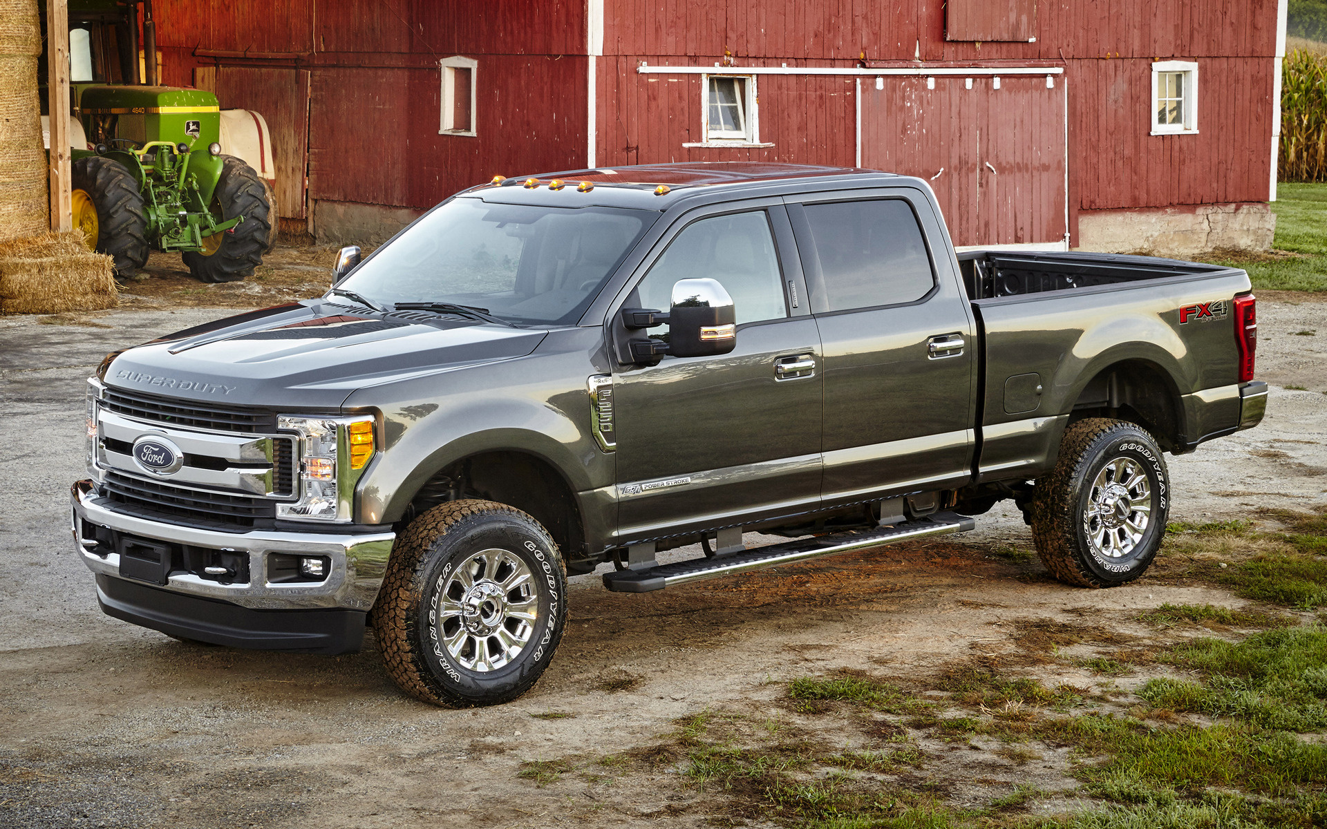 2017 Ford F 250 Xlt Fx4 Crew Cab Wallpapers And Hd