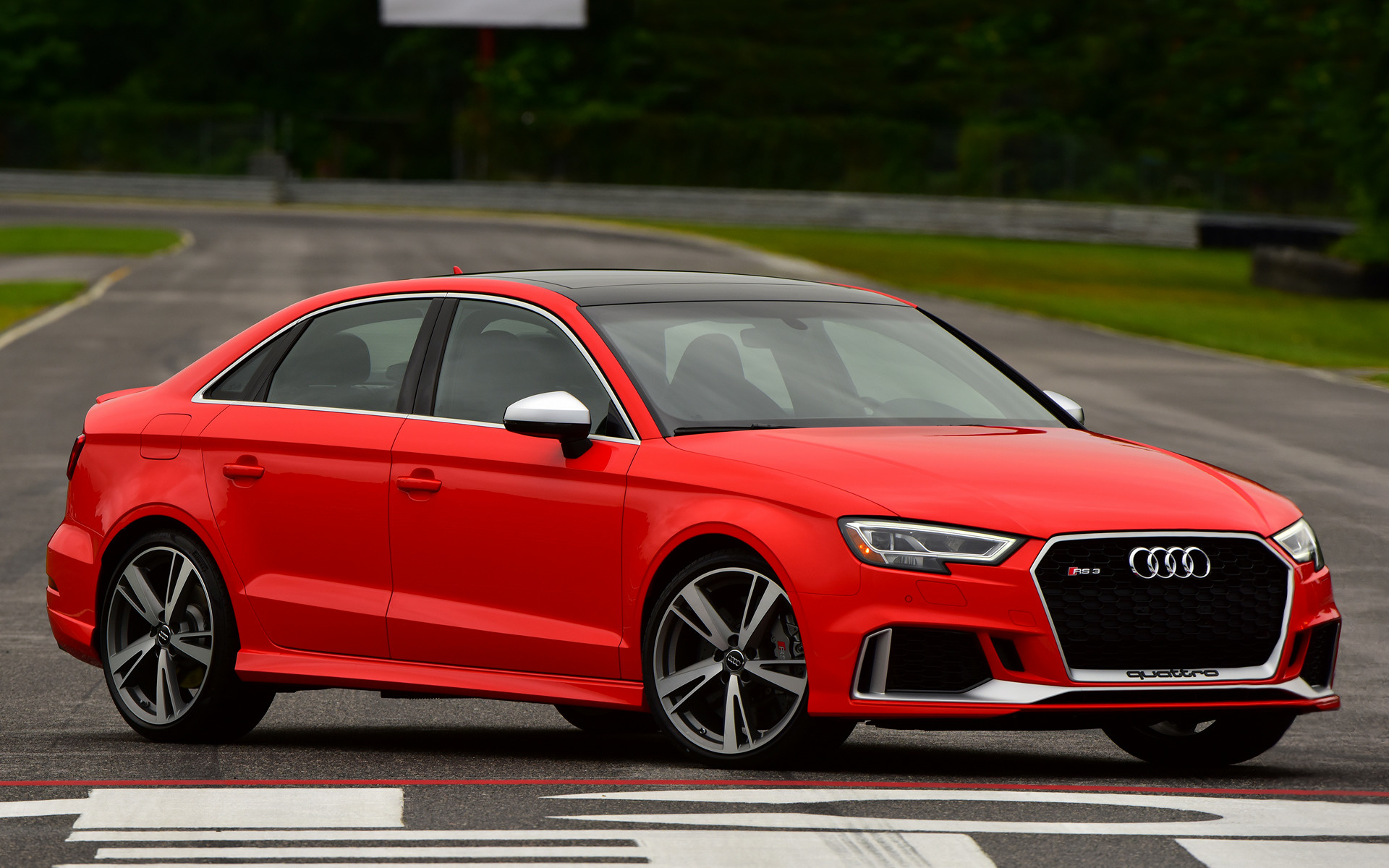 2018 Audi RS 3 Sedan (US) - Wallpapers and HD Images | Car ...