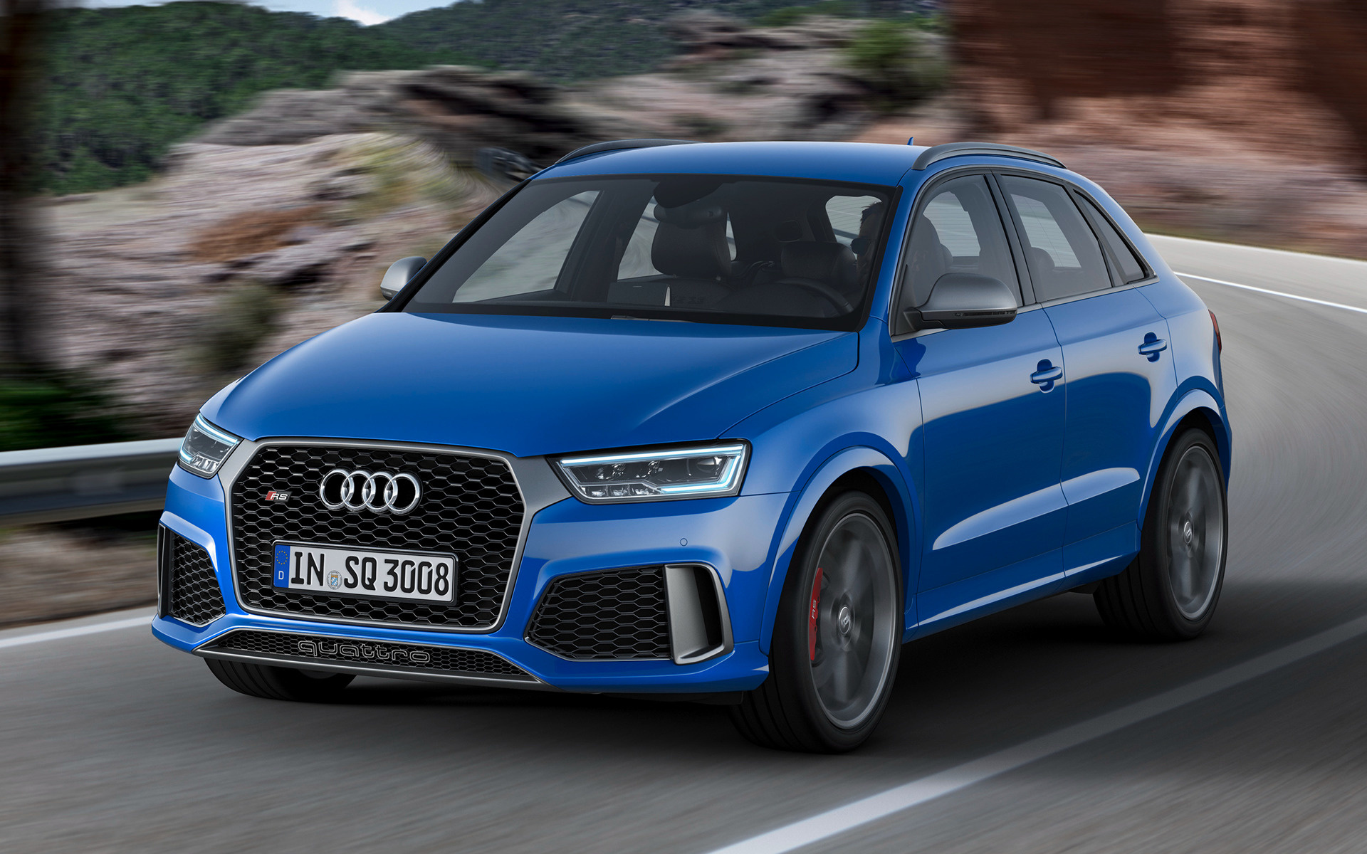 2016 audi rs q3 performance wallpapers and hd images. Black Bedroom Furniture Sets. Home Design Ideas
