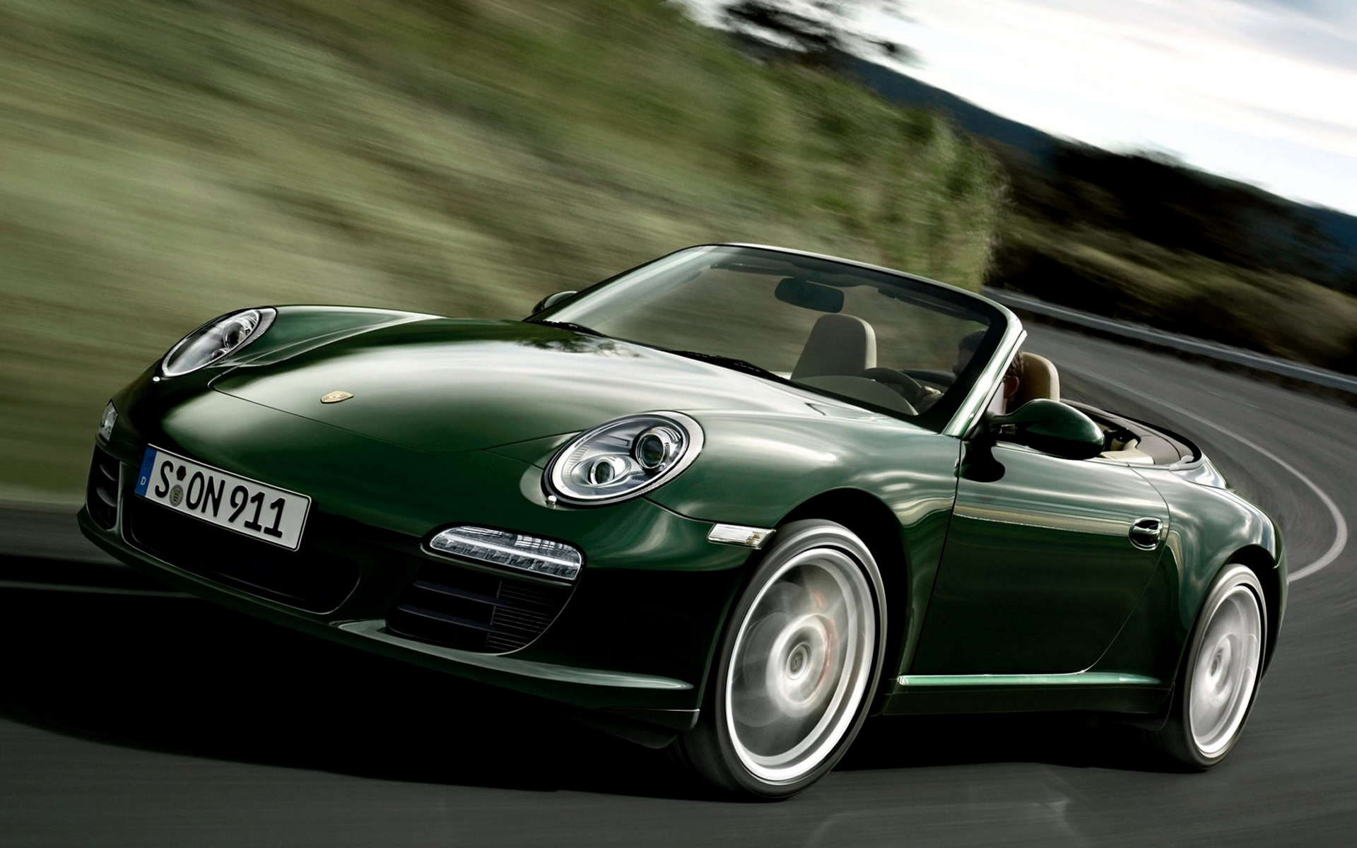 Porsche 911 Carrera S Cabriolet (2008) Wallpapers and HD ...