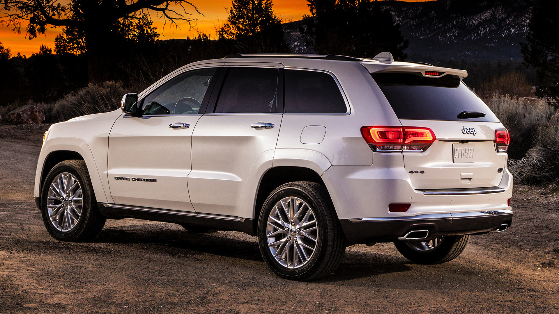 Dodge Ram 2017 >> 2017 Jeep Grand Cherokee Summit - Wallpapers and HD Images | Car Pixel