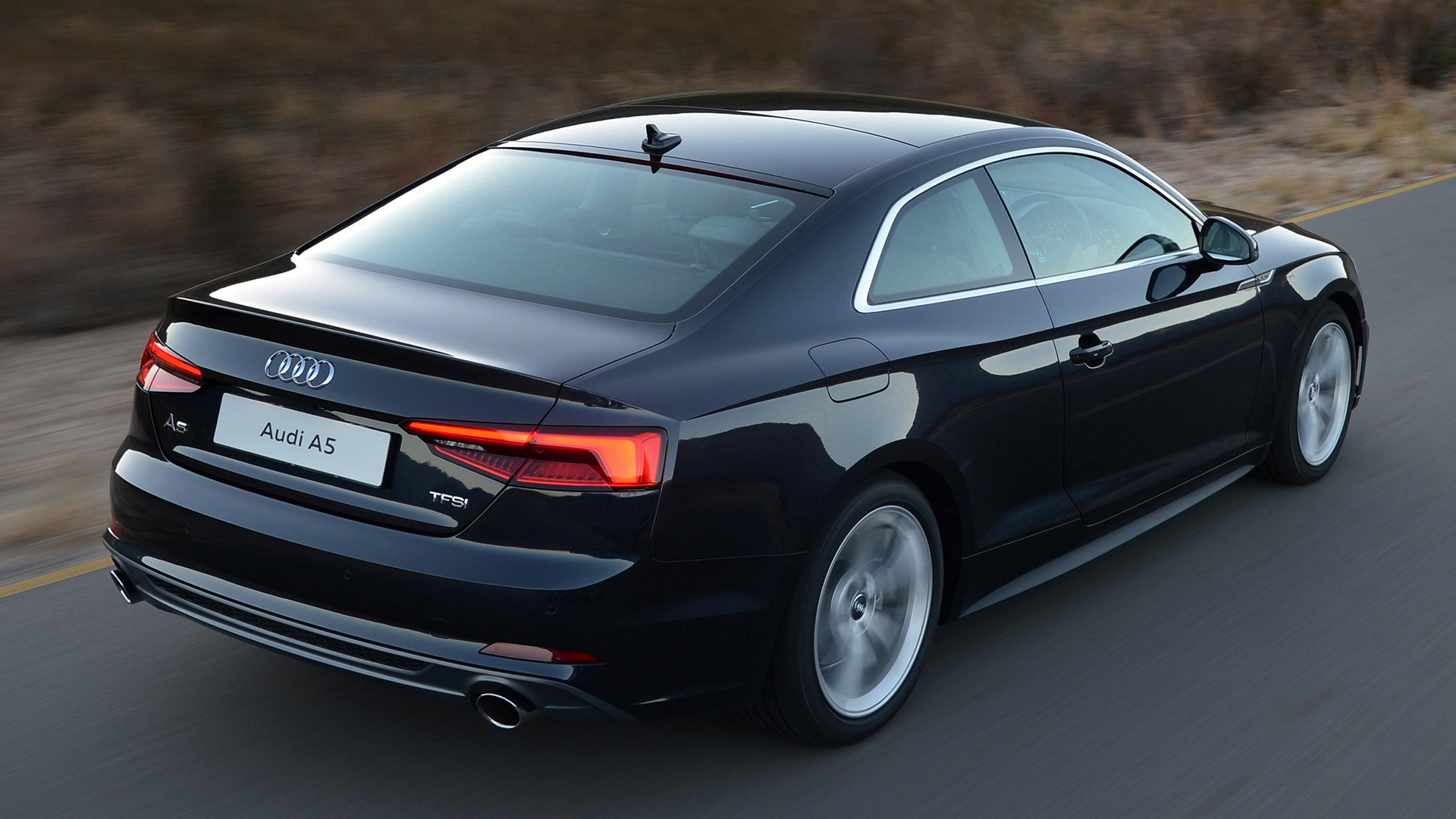 audi a5 coupe s line 2017 za wallpapers and hd images car pixel. Black Bedroom Furniture Sets. Home Design Ideas