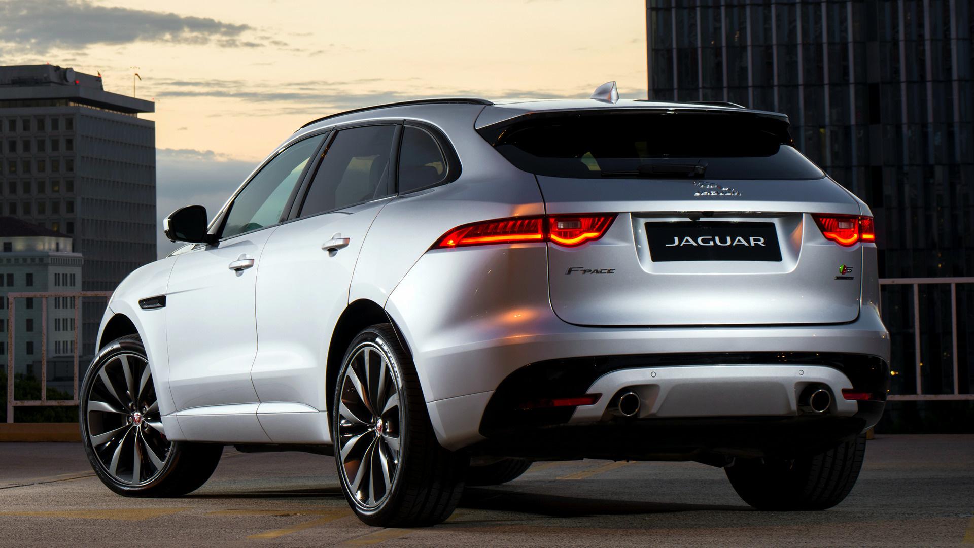2017 Dodge Ram >> 2017 Jaguar F-Pace S (US) - Wallpapers and HD Images | Car ...